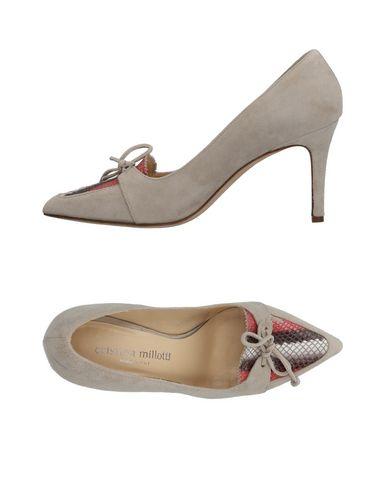 Zapatos casuales Mujer salvajes Mocasín Cristina Millotti Mujer casuales - Mocasines Cristina Millotti - 11458150OE Gris perla 2fbb2b