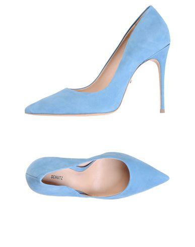 Casual Schutz salvaje Zapato De Salón Schutz Mujer - Salones Schutz Casual - 11458158CT Azul celeste 55981f