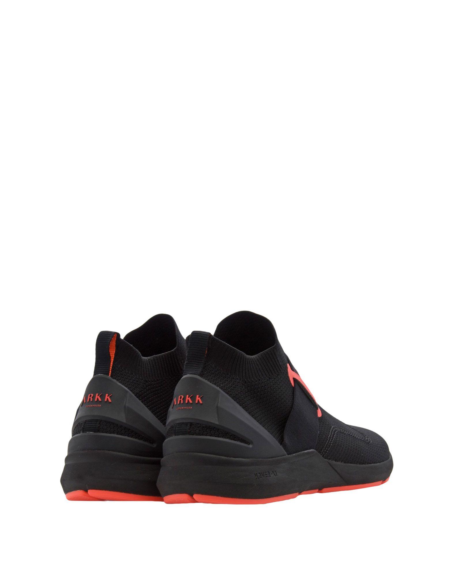 Sneakers Arkk Copenhagen Spyqon Fg Future H-X1 Black Neon Coral - Homme - Sneakers Arkk Copenhagen sur
