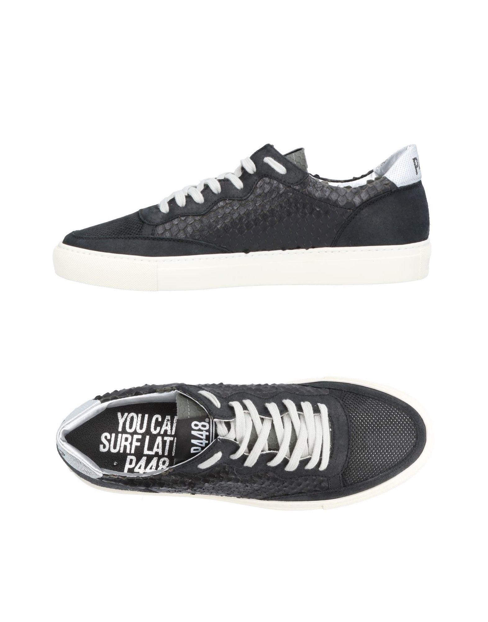 Rabatt echte Schuhe P448 Sneakers Herren  11458533OB
