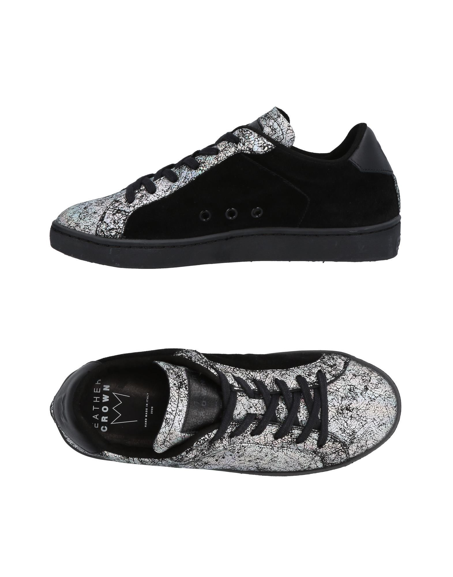 online Crown Leather su Sneakers Donna Acquista wITBzzx6nq