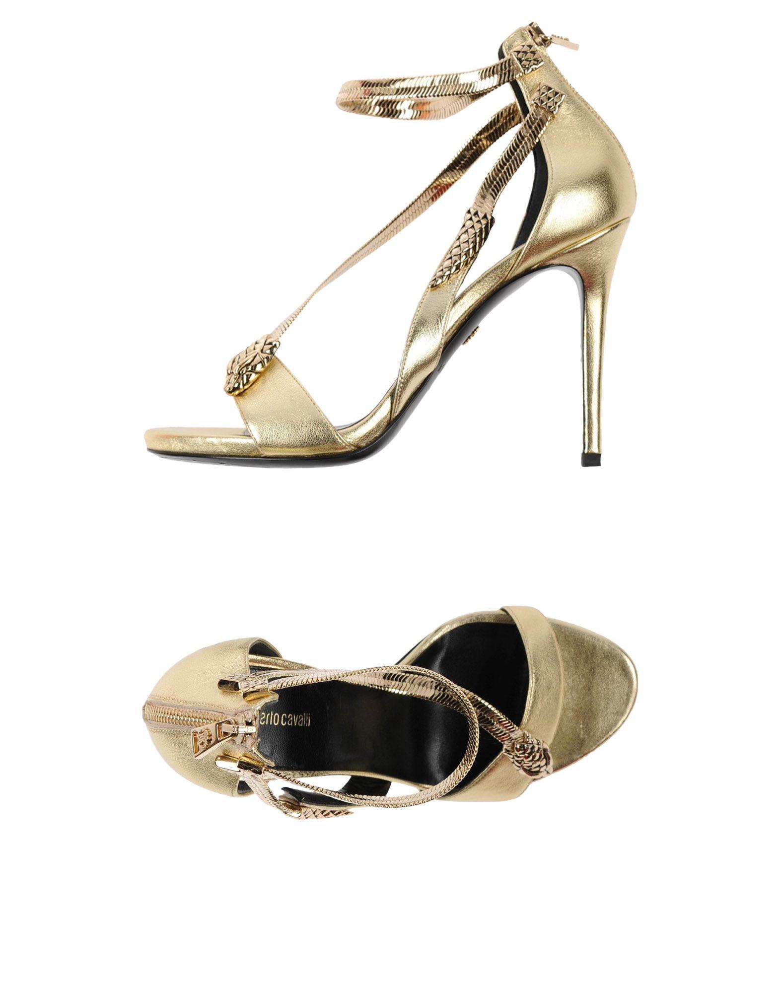 Roberto Cavalli gut Sandalen Damen  11458853RAGünstige gut Cavalli aussehende Schuhe e1e8e9
