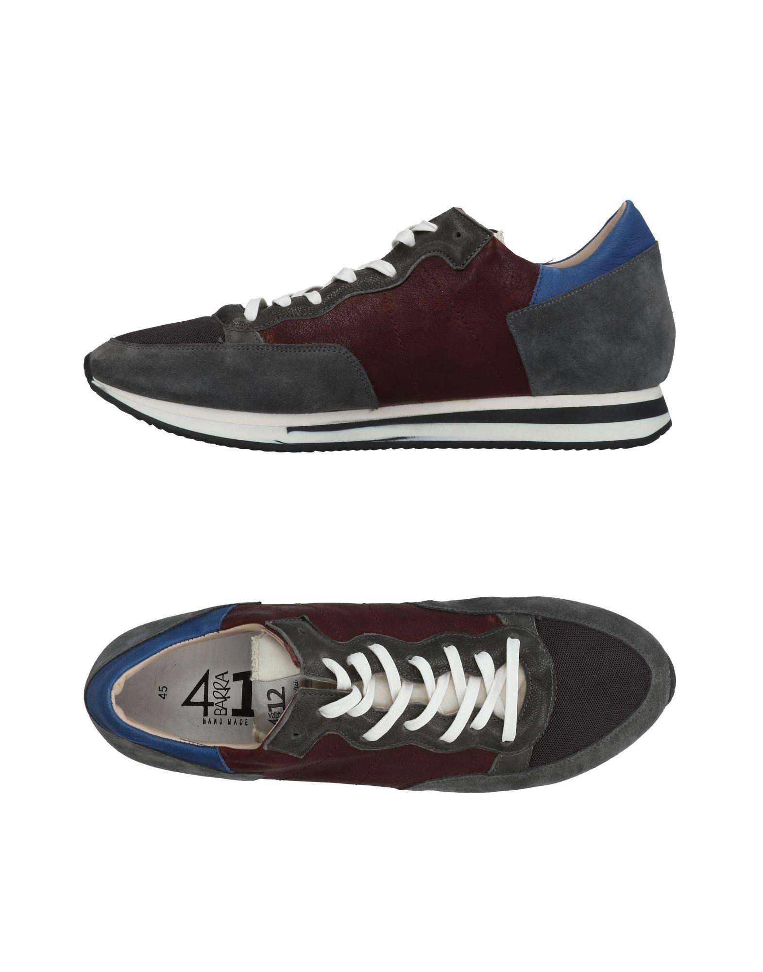 Rabatt echte Schuhe Quattrobarradodici Sneakers Herren  11459007CM