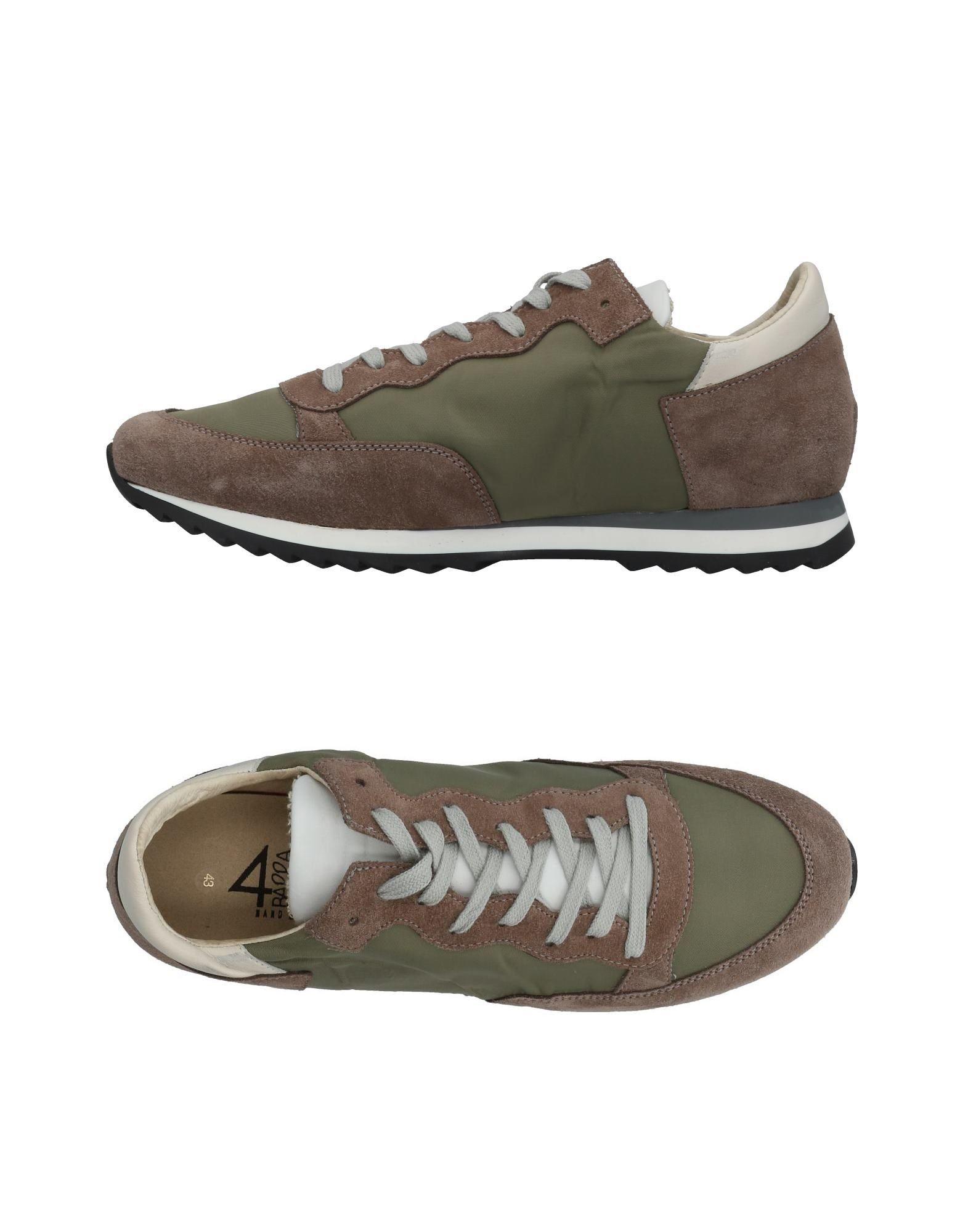 Rabatt echte Schuhe Quattrobarradodici Sneakers Herren  11459014WR