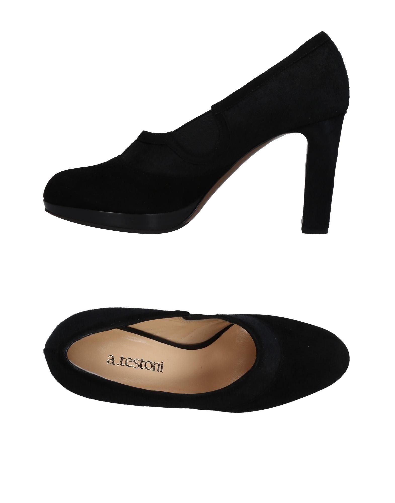 Stilvolle billige Schuhe A.Testoni Pumps Damen  11459062XV
