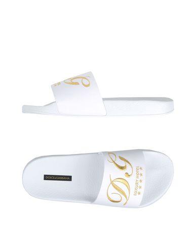 amp; Dolce Dolce Blanc Claquettes Gabbana amp; qgBnxEUU