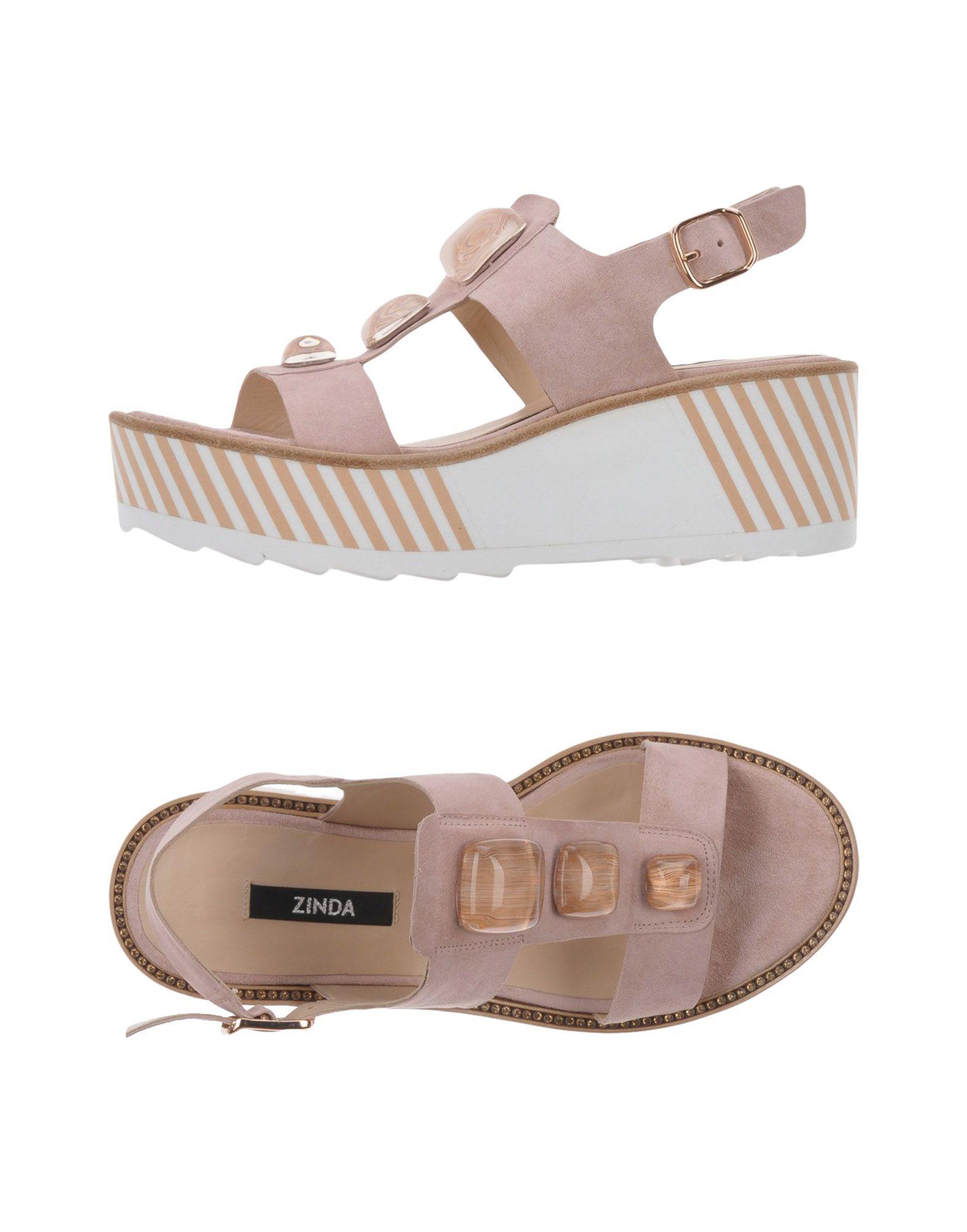 Gut um billige Schuhe zu tragenZinda Sandalen Damen  11459962FD