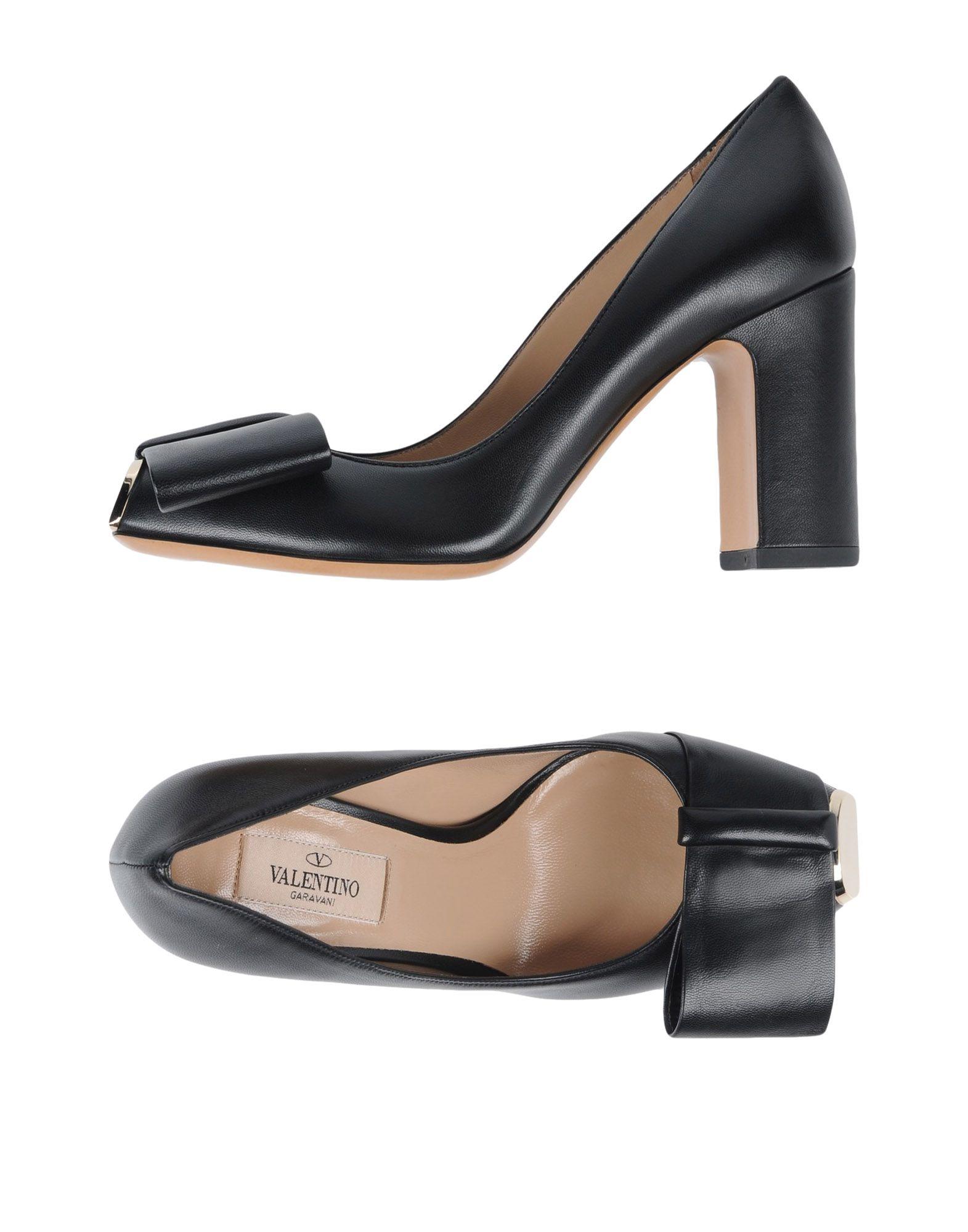 Escarpins Valentino Garavani Femme - Escarpins Valentino Garavani Noir Remise de marque