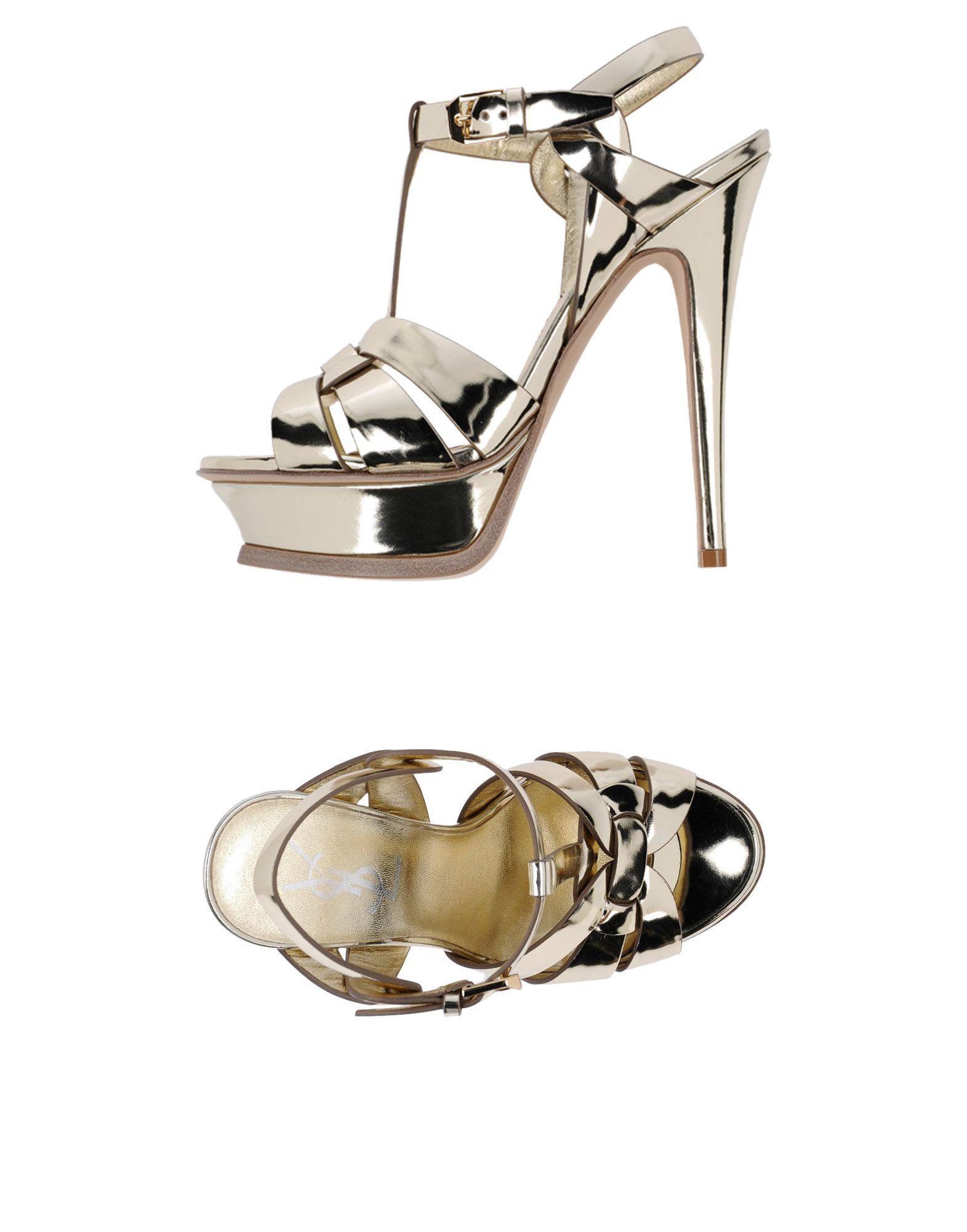 Saint Laurent Sandalen Damen  11460231JE Beliebte Schuhe
