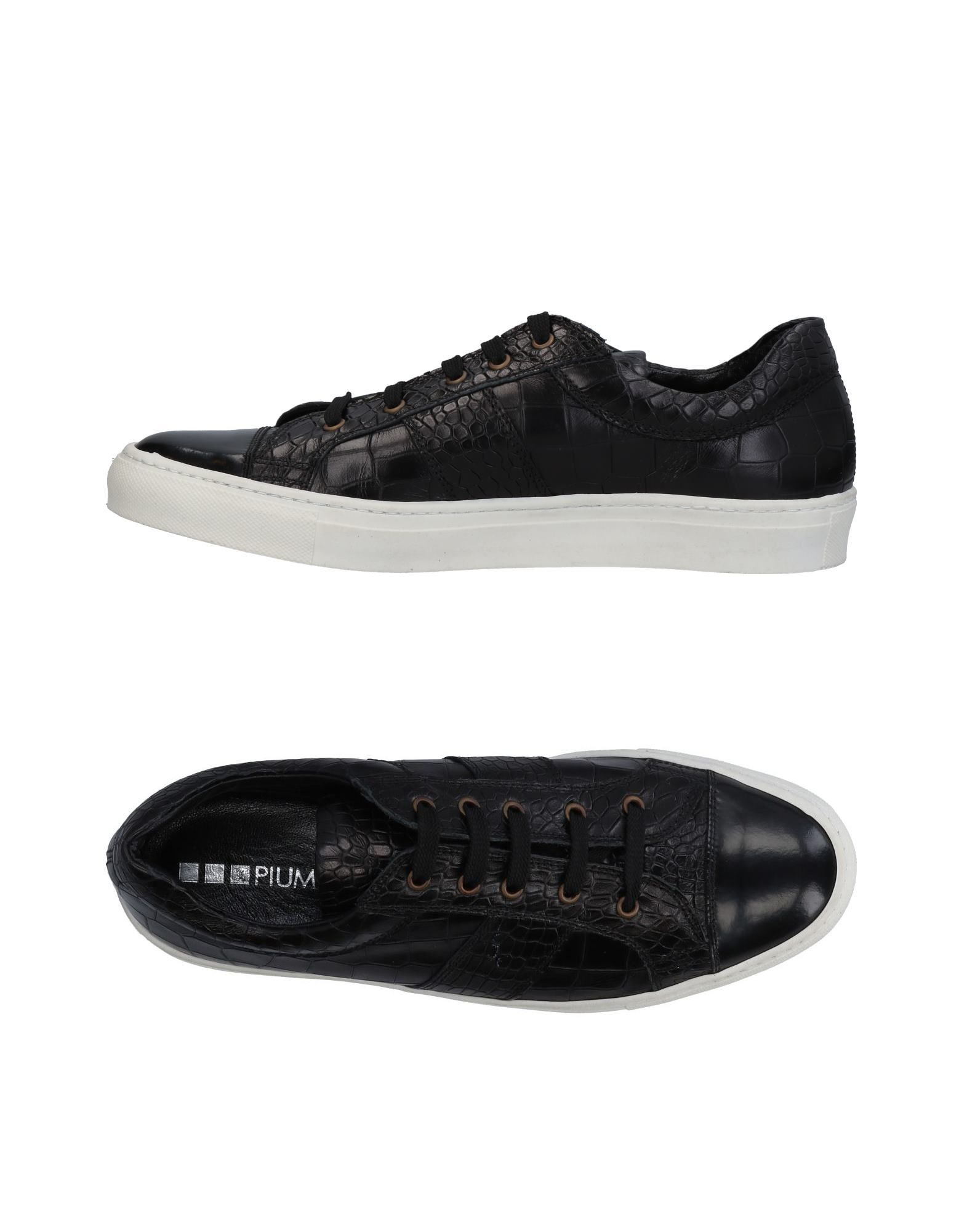Sneakers Piumi Homme - Sneakers Piumi  Noir Chaussures casual sauvages