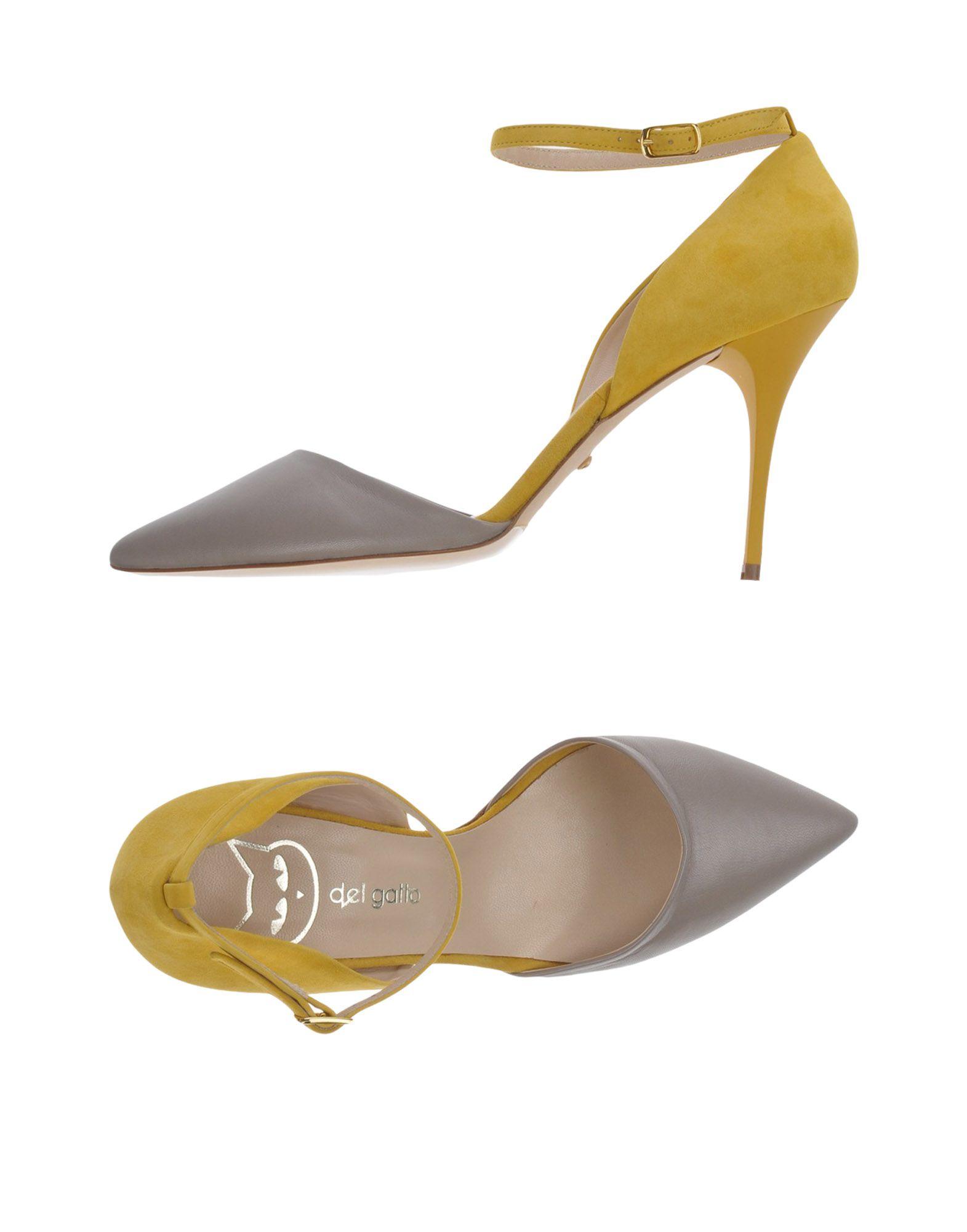 Gut um billige Schuhe Damen zu tragenDel Gatto Pumps Damen Schuhe  11460560XO a49128