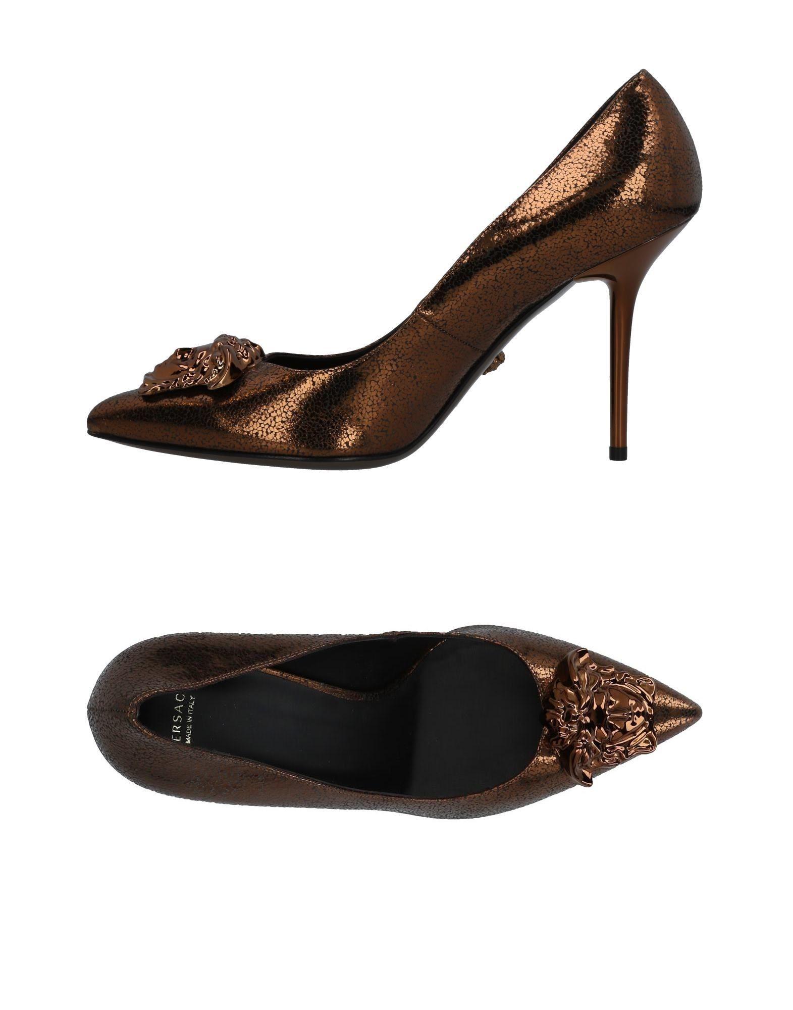 Versace Pumps Damen  11460582JKGünstige gut aussehende Schuhe