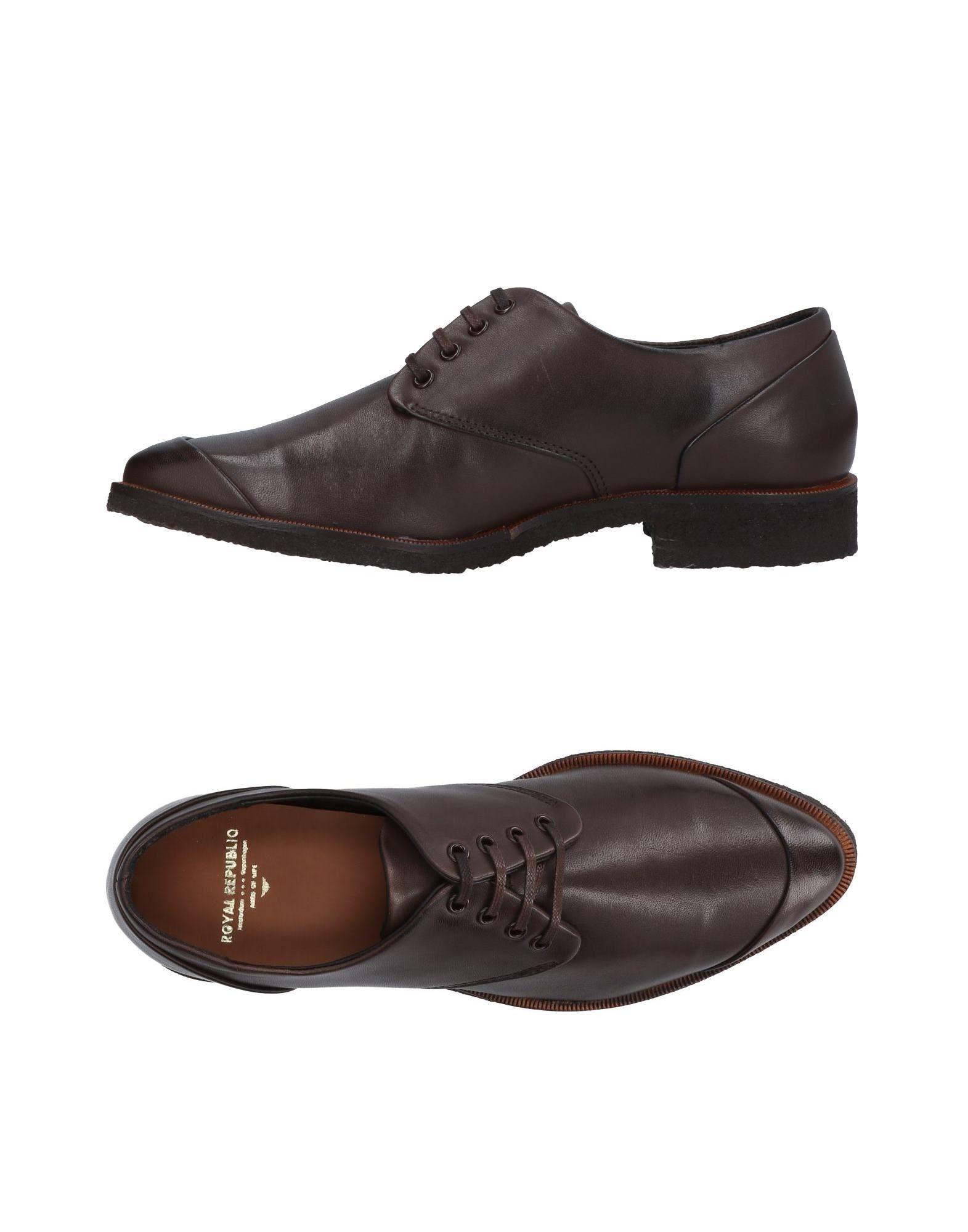 Moda barata y hermosa Zapato De Cordones Royal Republiq Mujer Republiq - Zapatos De Cordones Royal Republiq Mujer  Negro 3867ac