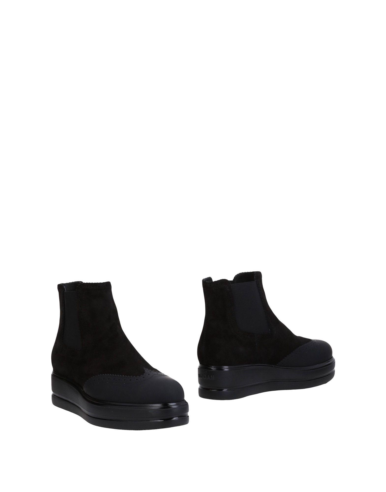 Bottillons Hogan Femme - Bottillons Hogan Noir Chaussures casual sauvages