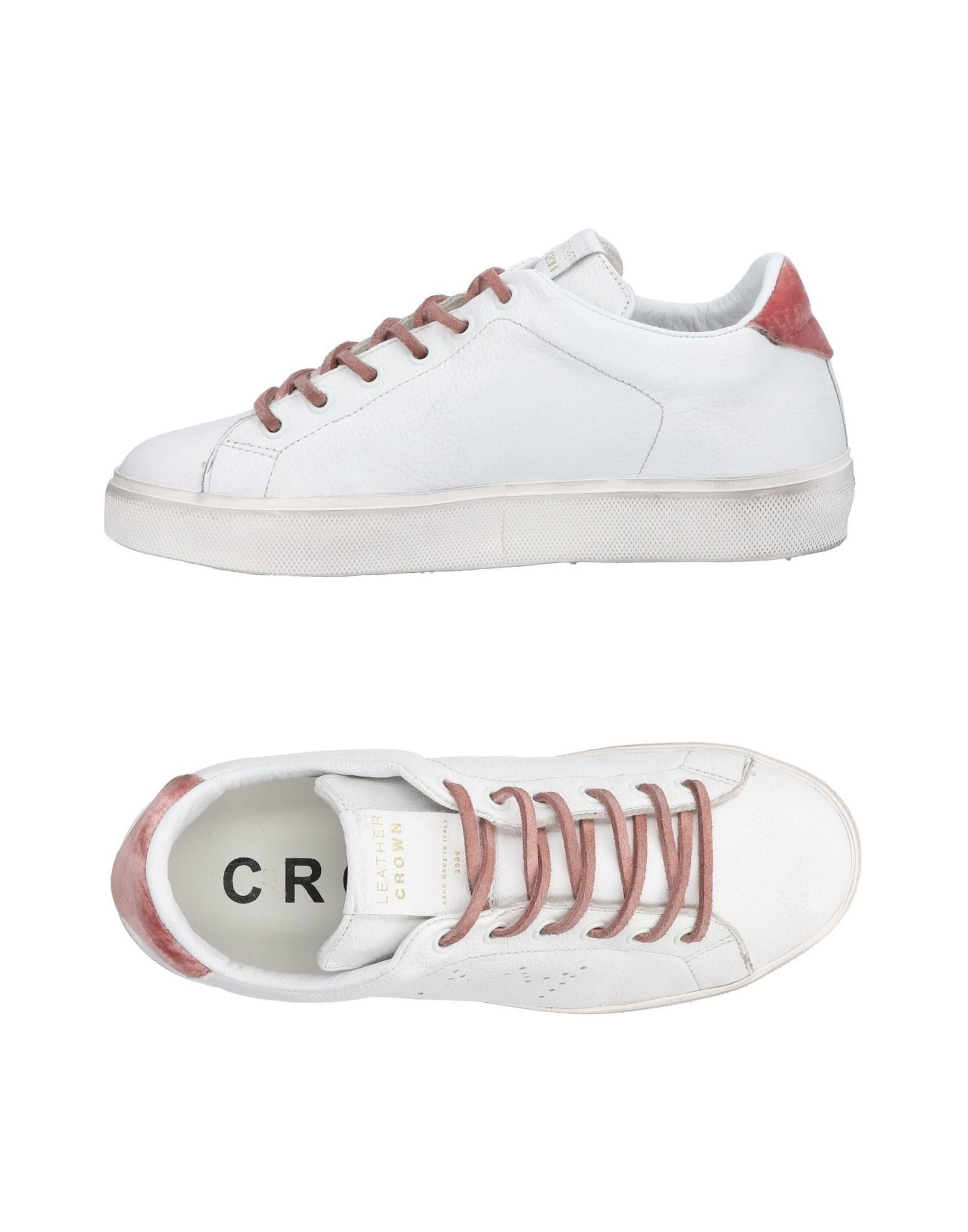 Sneakers Leather Crown Donna - 11461105LL