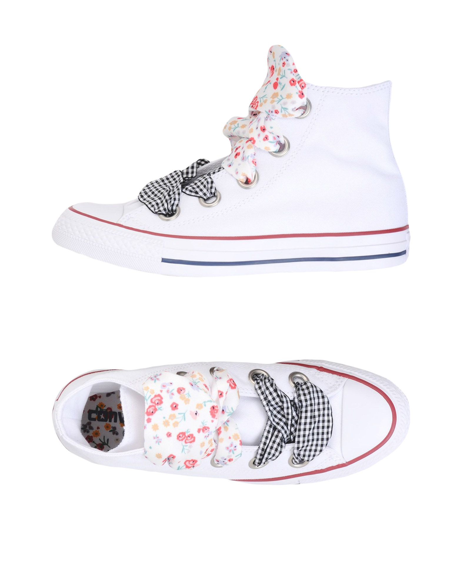 Sneakers Converse All Star Ctas Hi Big Eyelet Flowers Details - Donna - 11461273GC