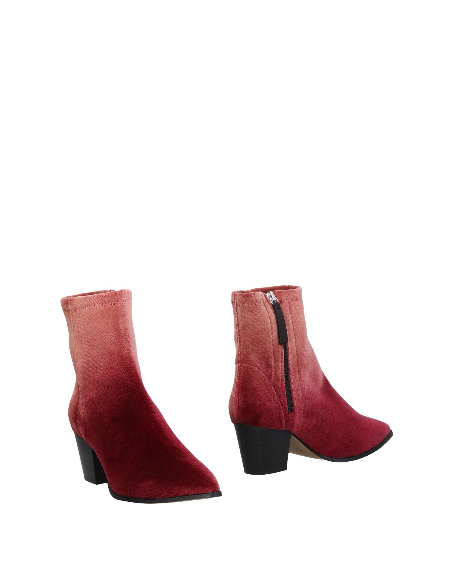 Bottine Stiù Femme - Bottines Stiù Bordeaux Les chaussures les plus populaires pour les hommes et les femmes