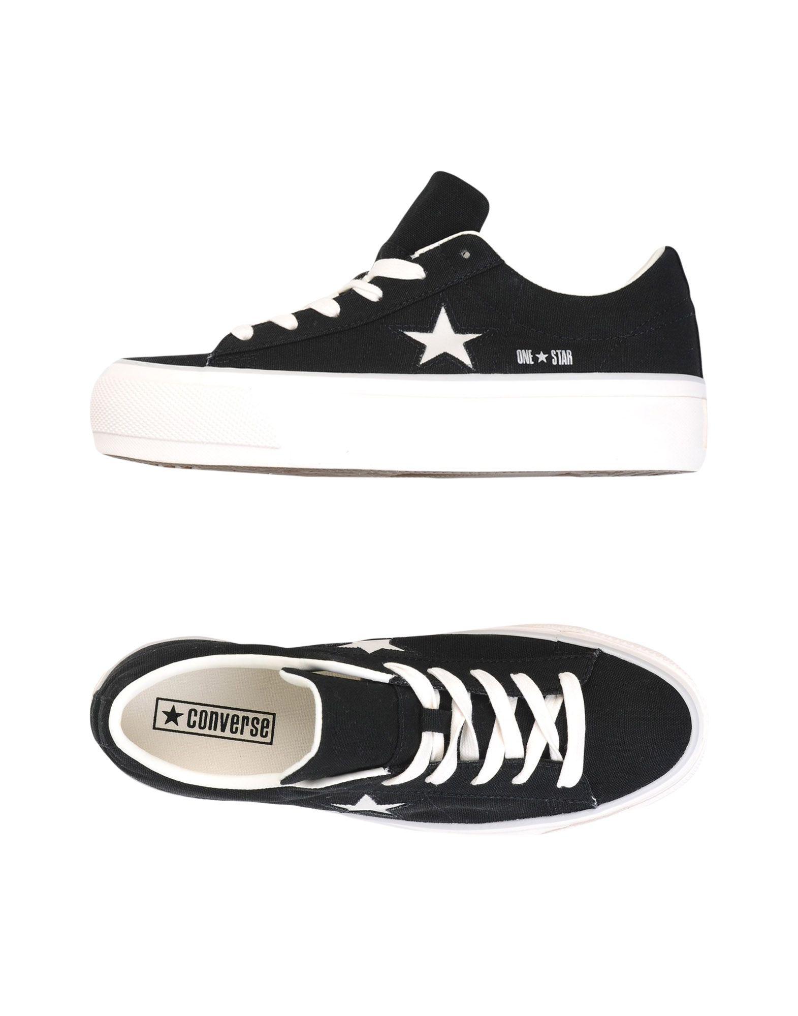 Scarpe da Ginnastica Star Converse All Star One Star Ginnastica Platform Ox Glitter Canvas - Donna - 11461363DR c2e6cb