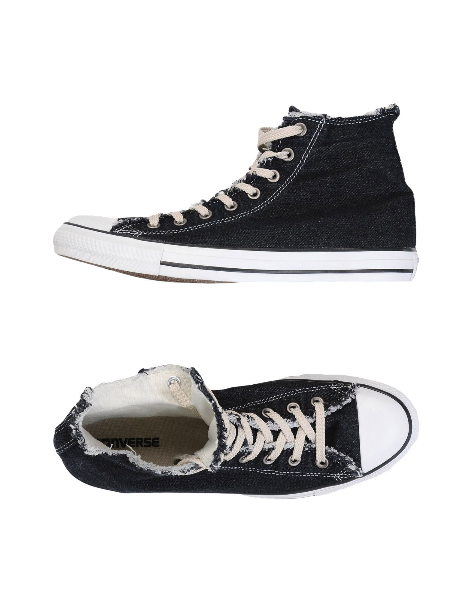 Sneakers Converse All Star Ctas Hi Denim Frayed Washed - Uomo - 11461375WT