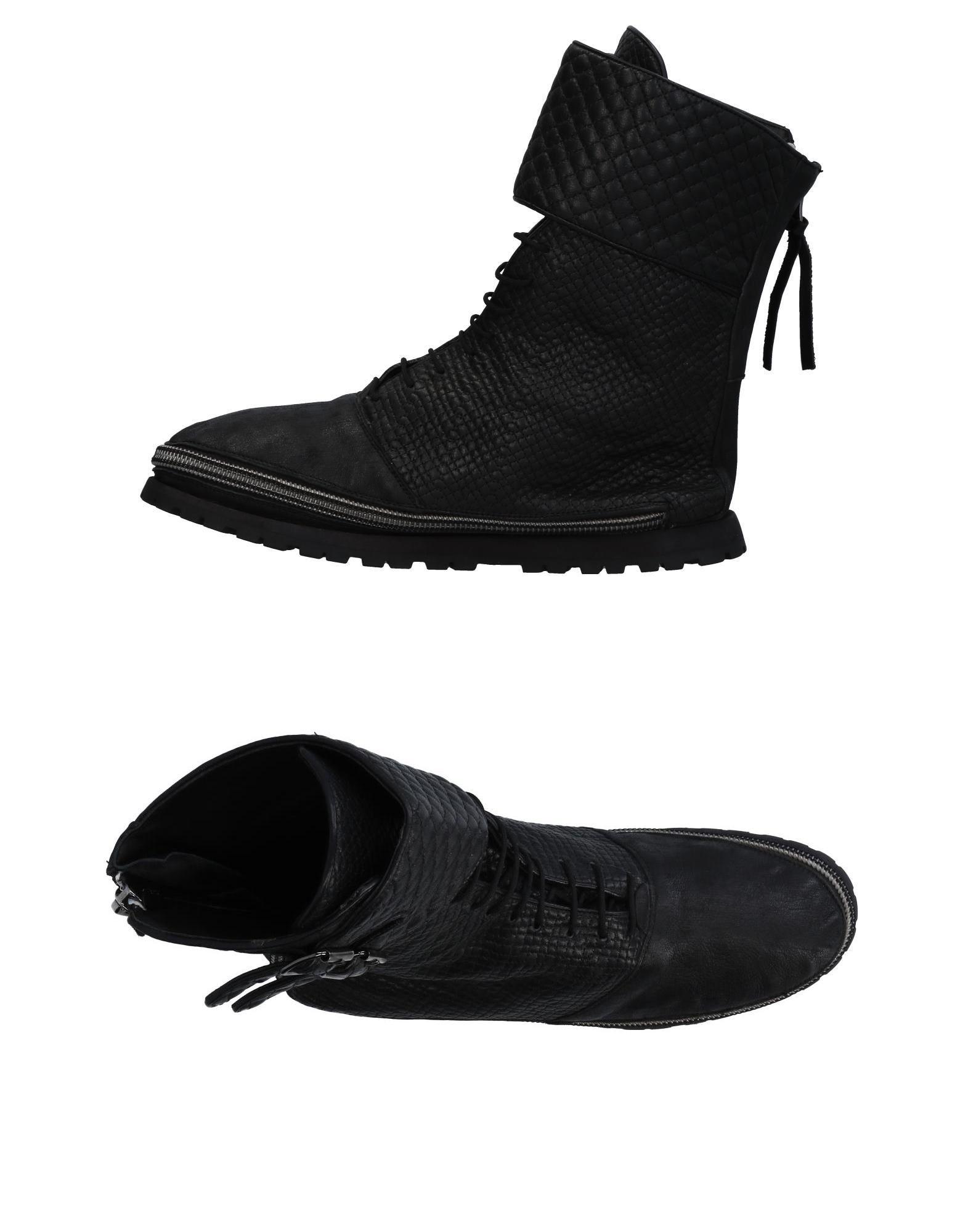 Sneakers Giorgio Brato + Veeshoo Homme - Sneakers Giorgio Brato + Veeshoo  Noir Spécial temps limité
