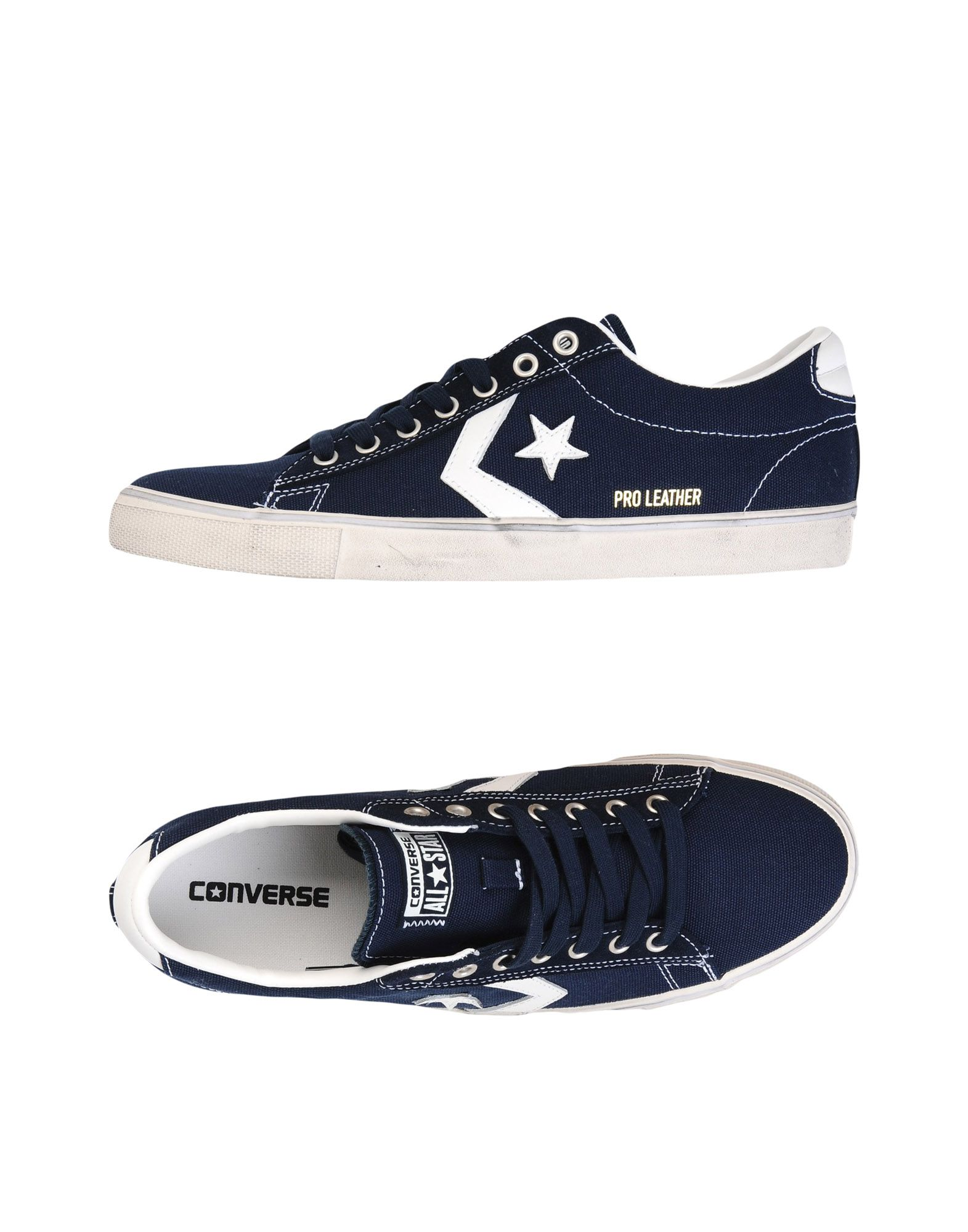 Sneakers Converse All Star Pro Leather Vulc Ox Canvas Distressed - Uomo - 11461436OL