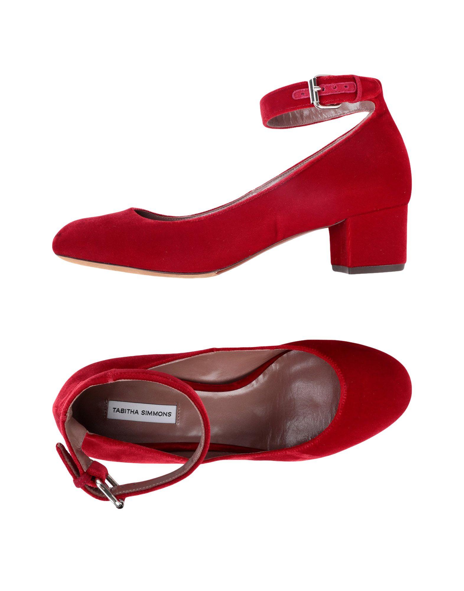 Escarpins Tabitha Simmons Femme - Escarpins Tabitha Simmons Rouge Chaussures casual sauvages