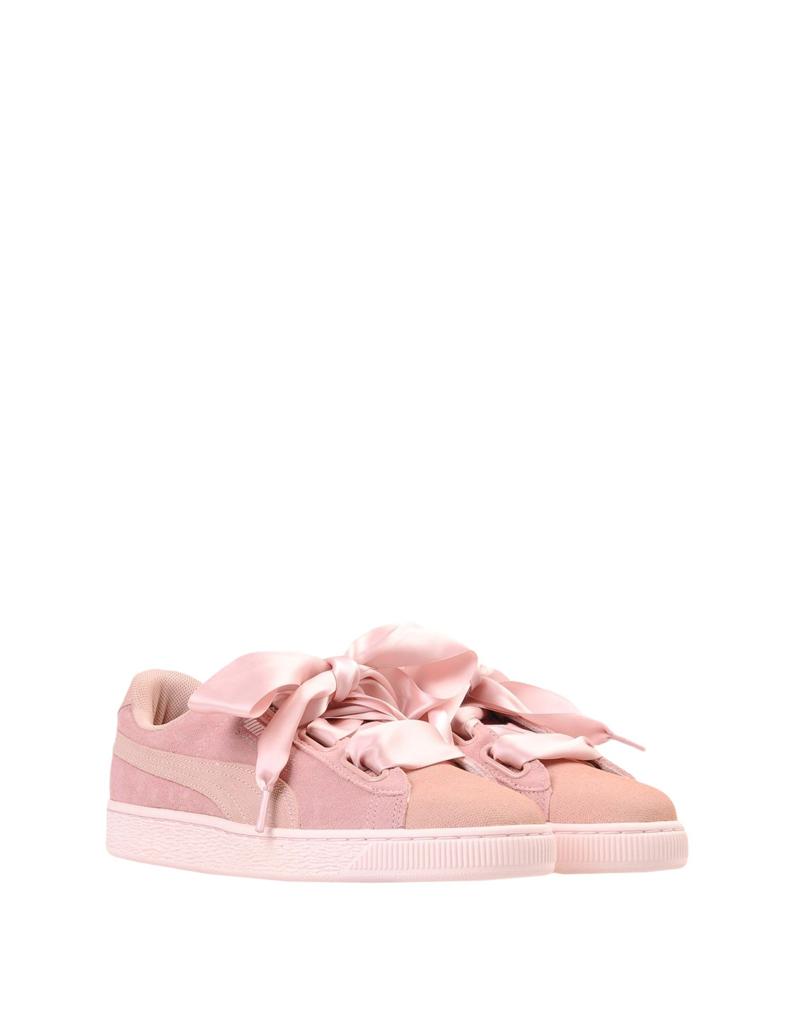 Sneakers Puma Suede Heart Pebble Wns - Femme - Sneakers Puma sur