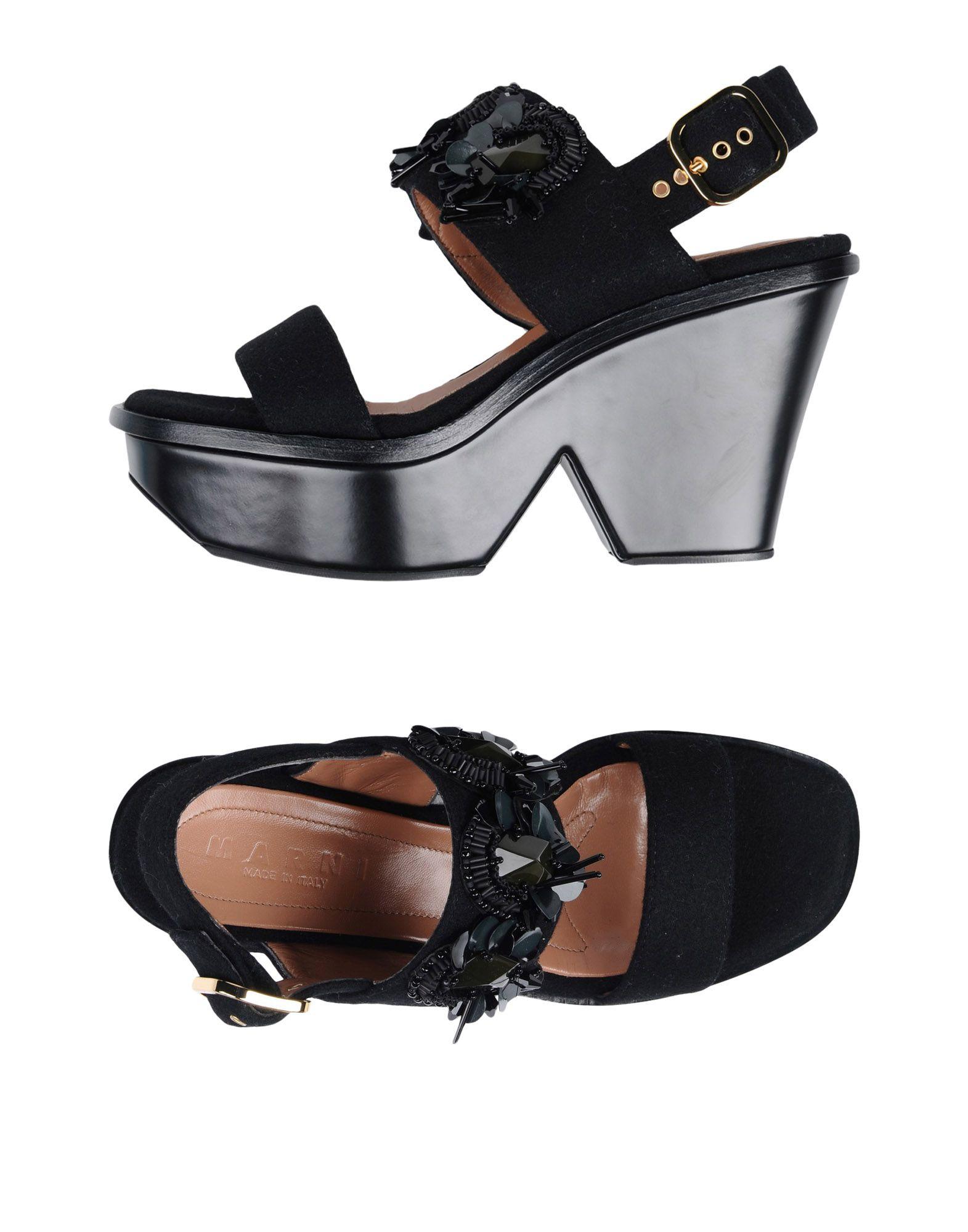 Marni Sandalen Damen  11461626UDGünstige gut aussehende Schuhe