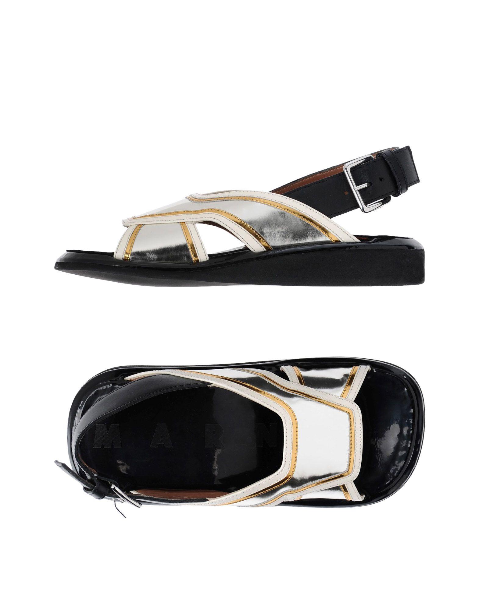 Rabatt Schuhe Marni Sandalen Damen  11461633KA