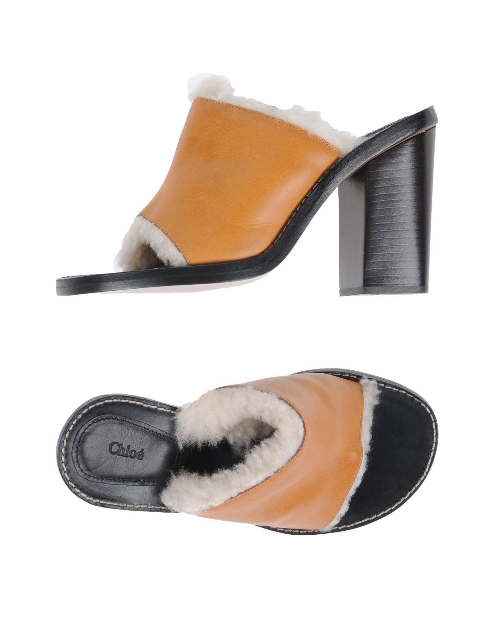 Rabatt Schuhe Chloé Sandalen Damen  11461764ID