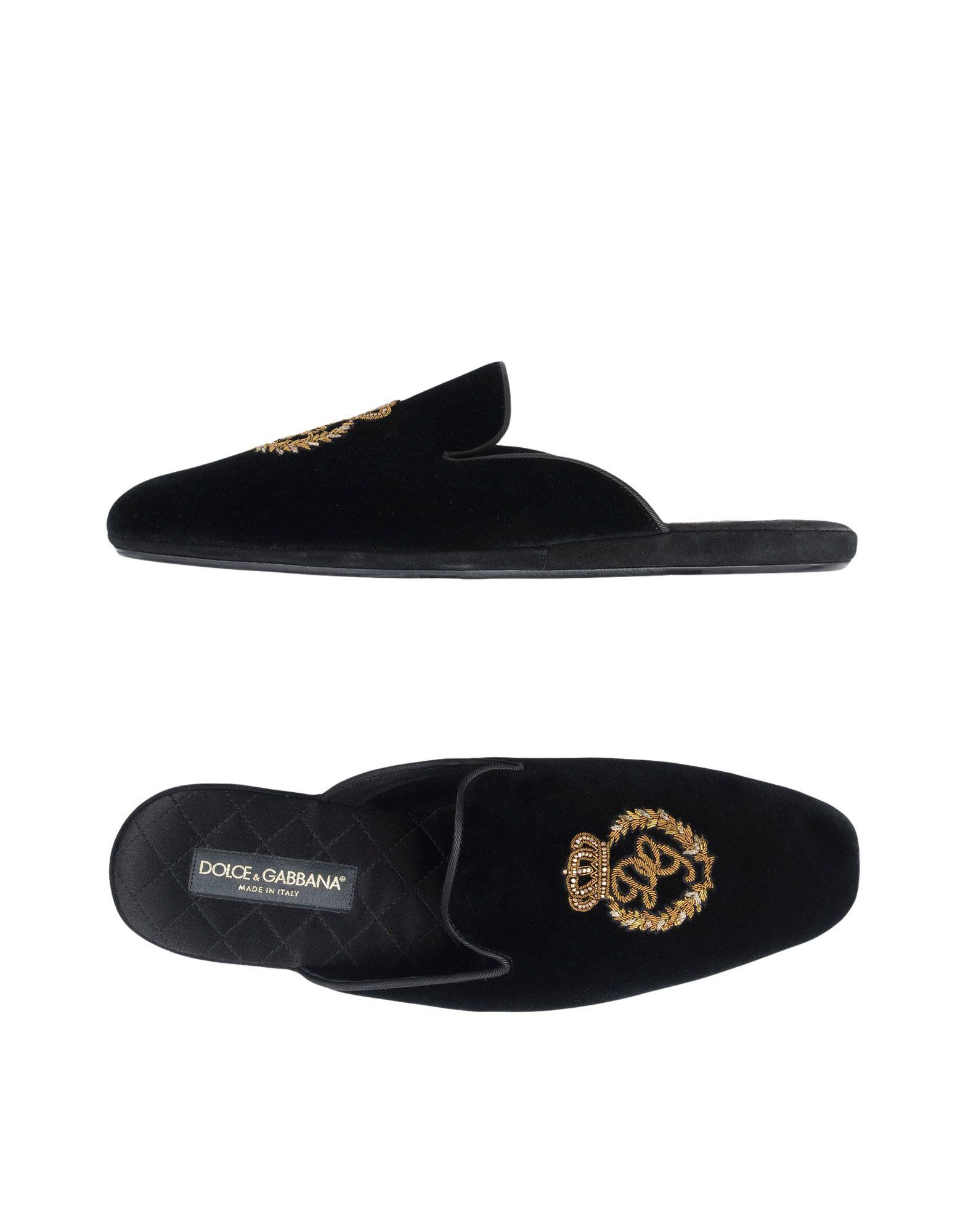 Pantofole Dolce & Gabbana Uomo - 11461905GV
