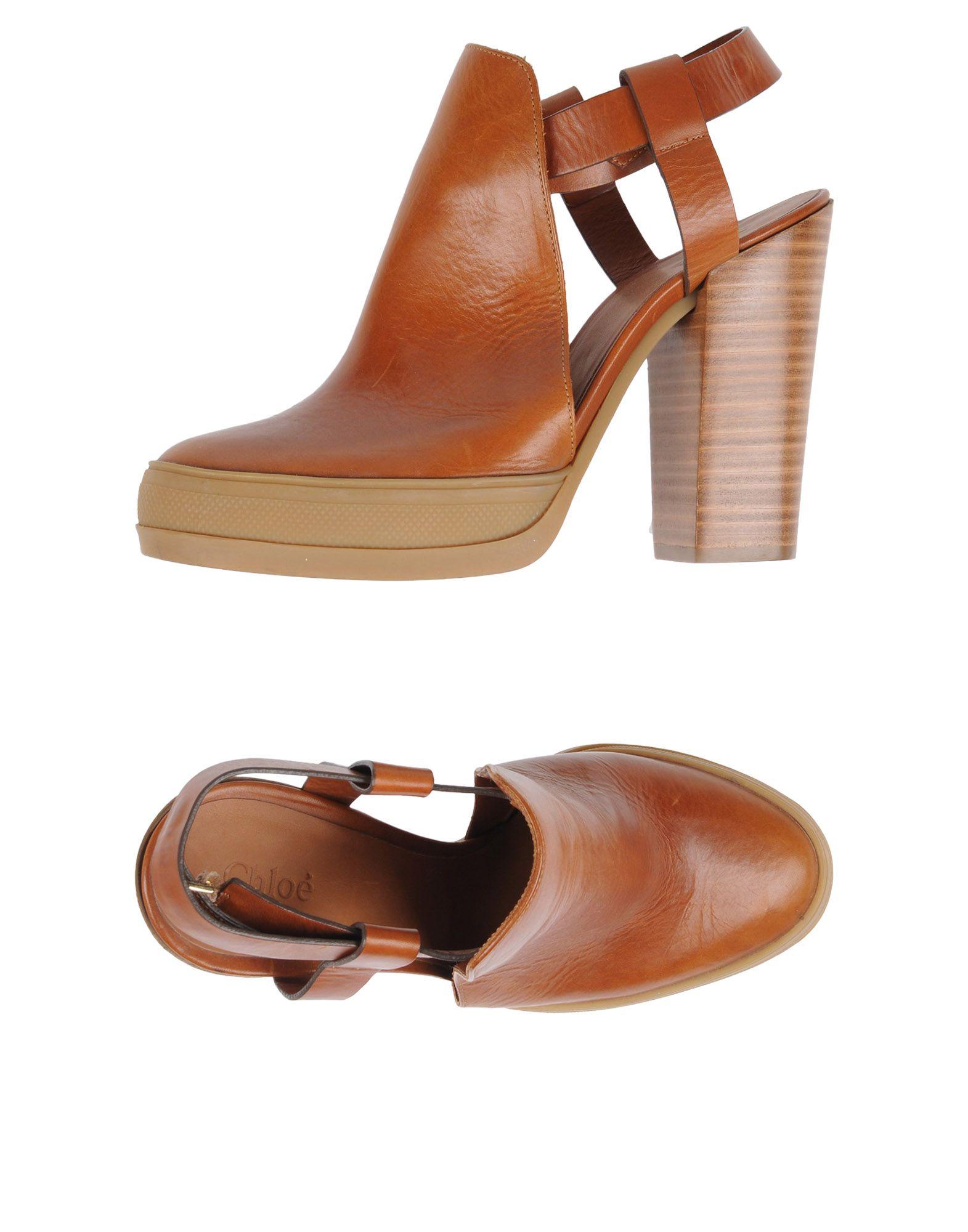 Chloé Pantoletten Damen  11462076DUGünstige gut aussehende Schuhe