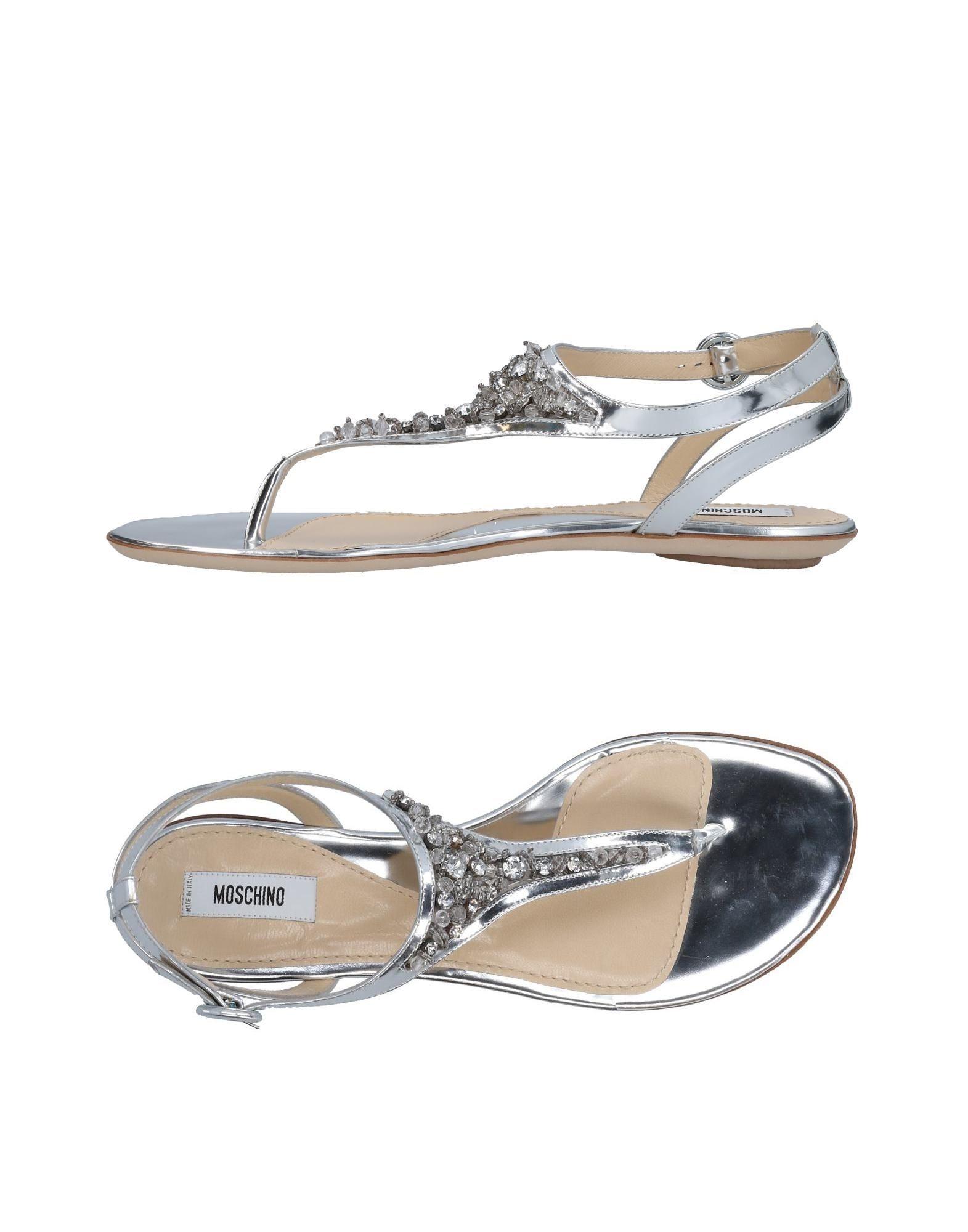 Moschino on Flip Flops - Women Moschino Flip Flops online on Moschino  Australia - 11462355AQ f6e08d