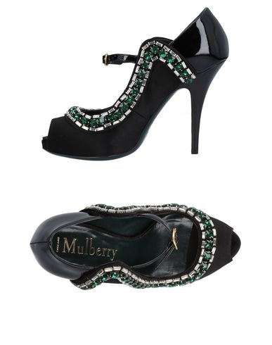 Gran descuento Zapato De Salones Salón Mulberry Mujer - Salones De Mulberry - 11462557SG Negro 628138
