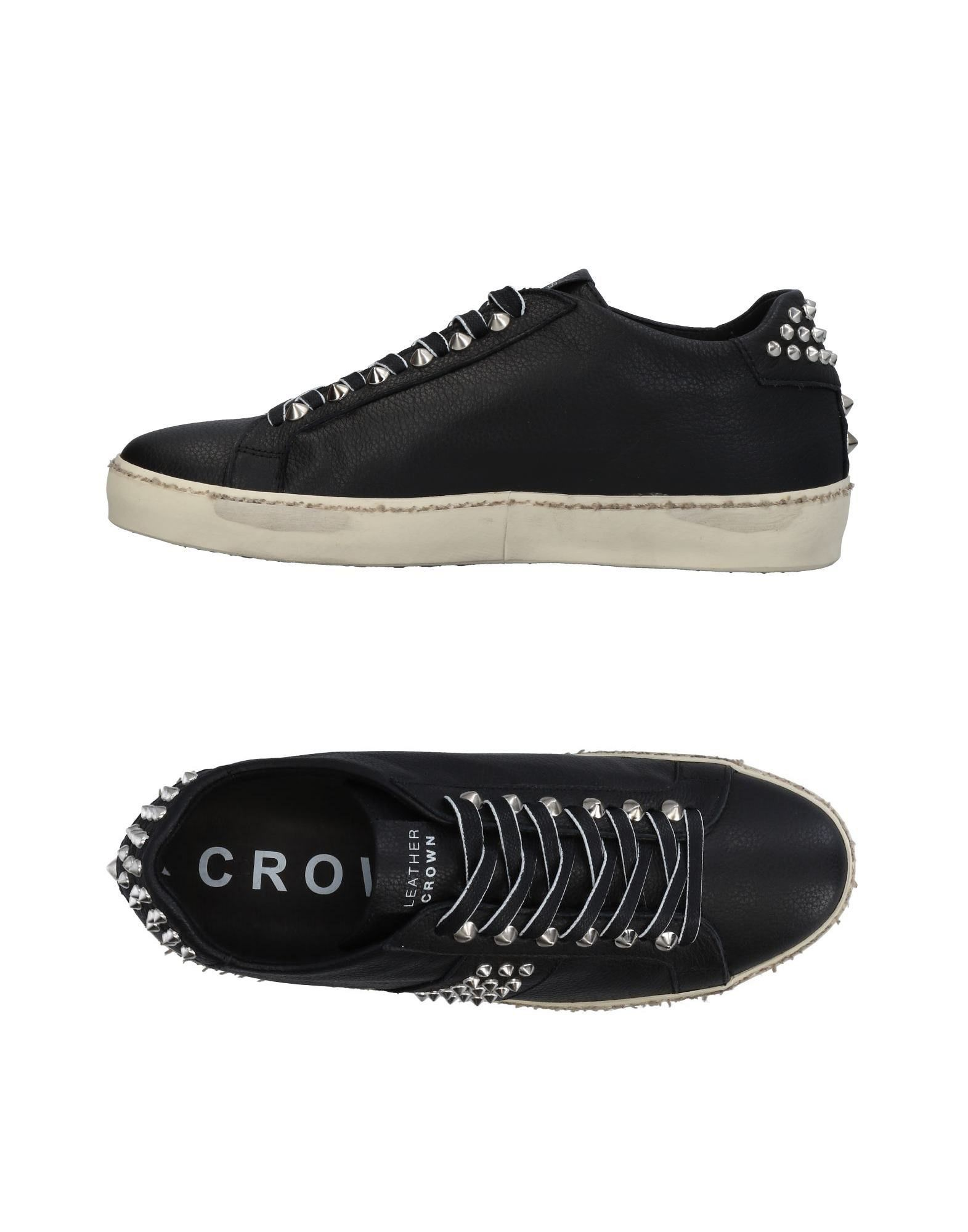 Leather Crown Sneakers - Men Leather Crown Crown Crown Sneakers online on  United Kingdom - 11462611BF 58c5a3