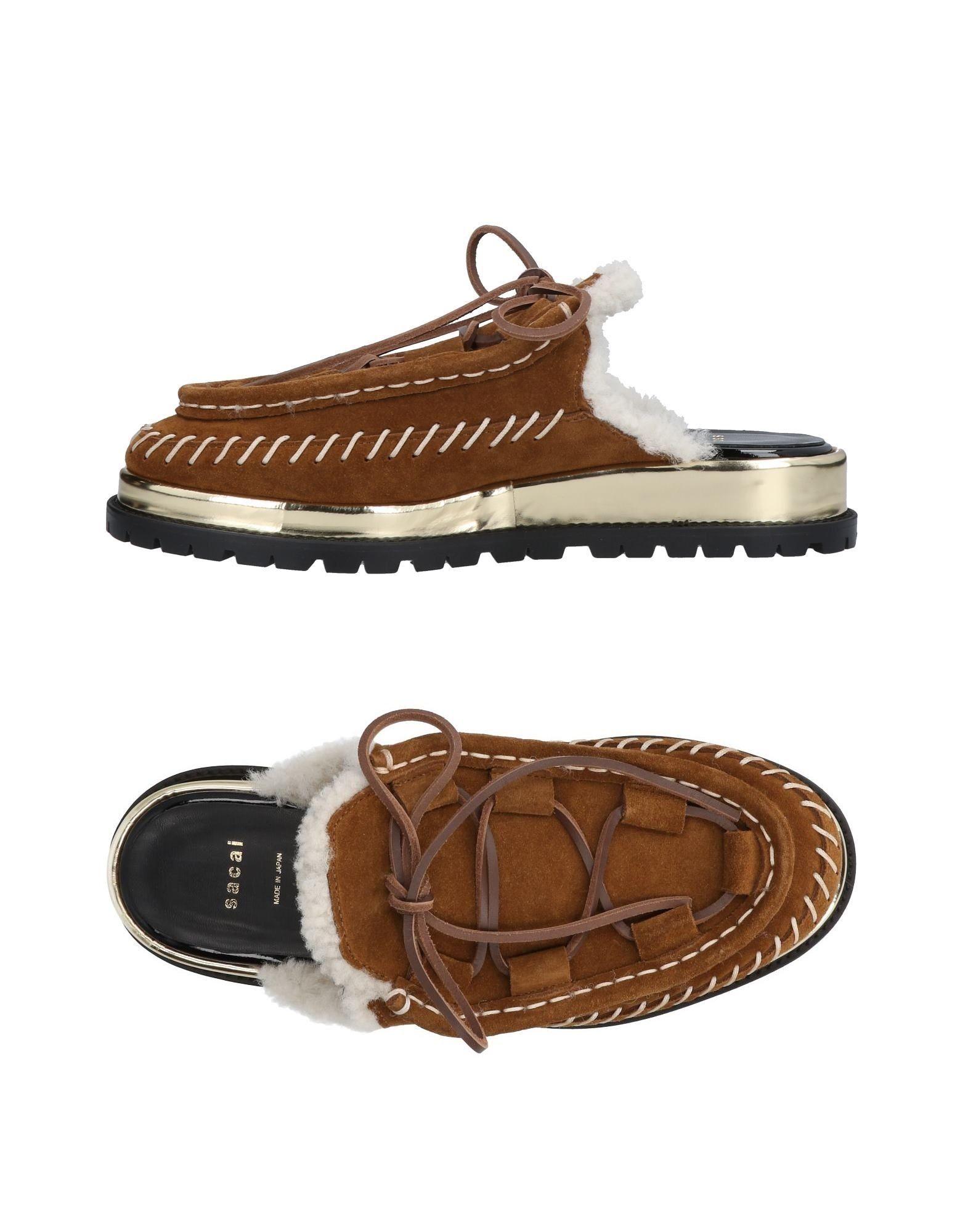 Sacai Pantoletten Damen  aussehende 11462800DEGünstige gut aussehende  Schuhe 1c953d