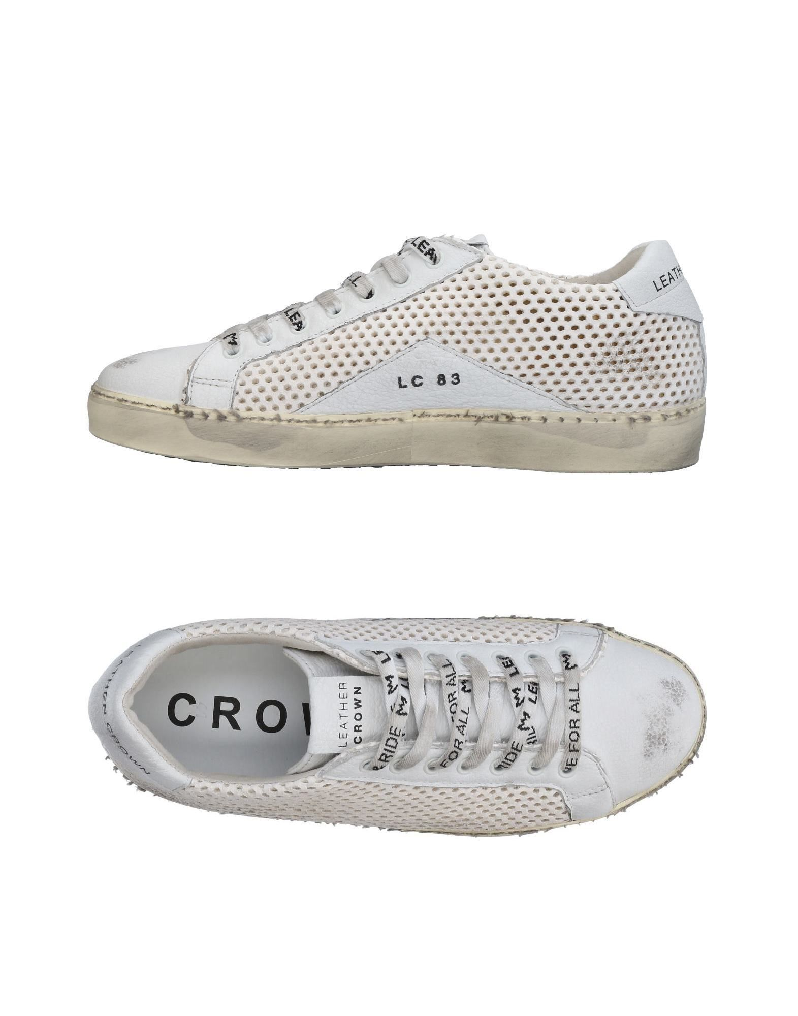 Sneakers Leather Crown Uomo - 11462840CQ