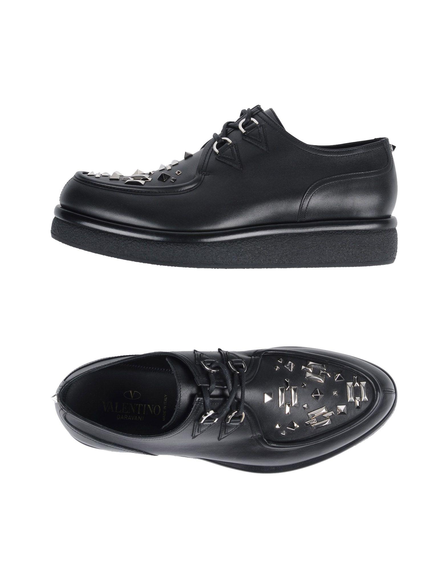 Zapatos de mujer baratos zapatos de mujer Mujer Zapato De Cordones Valtino Garavani Mujer mujer - Zapatos De Cordones Valtino Garavani  Negro 6b1c69