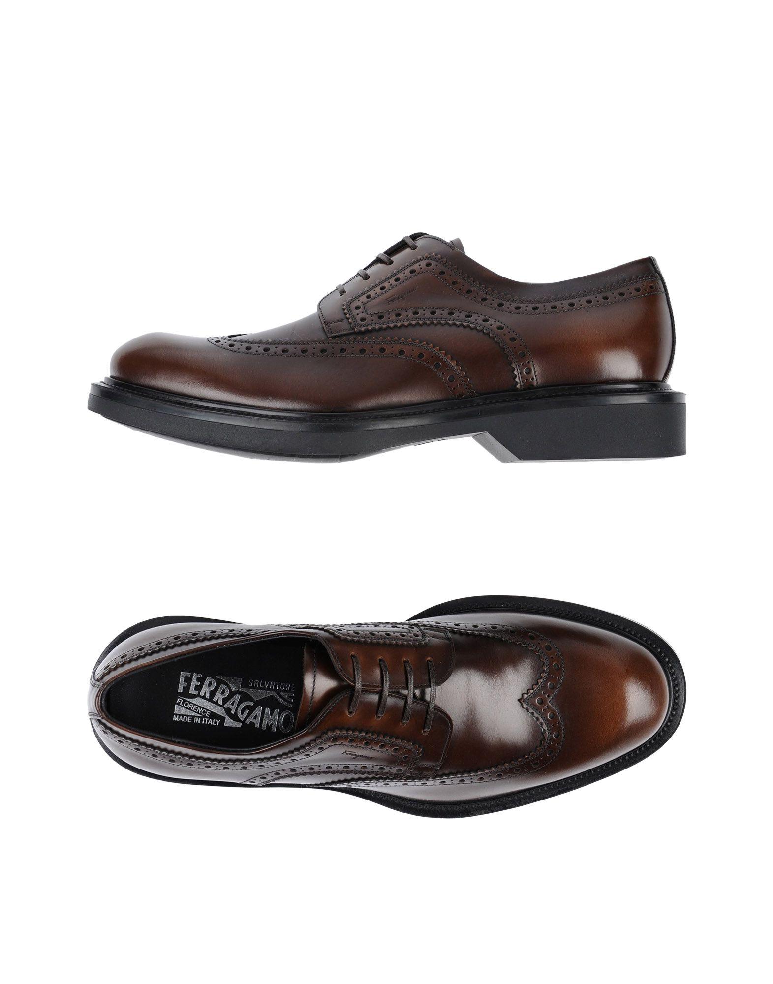 Salvatore Ferragamo Schnürschuhe Herren  11463171TB Gute Qualität beliebte Schuhe