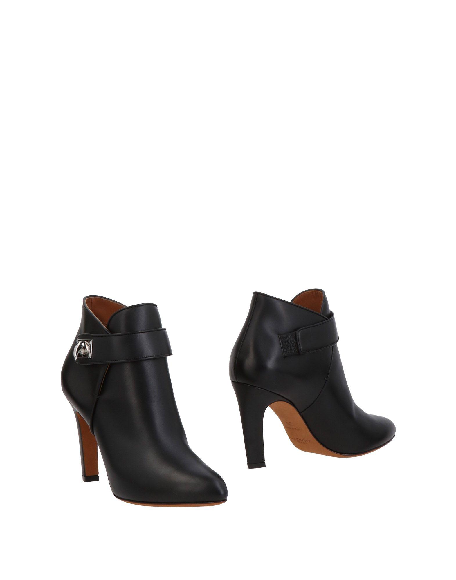 Bottine Givenchy Femme - Bottines Givenchy Noir Dédouanement saisonnier