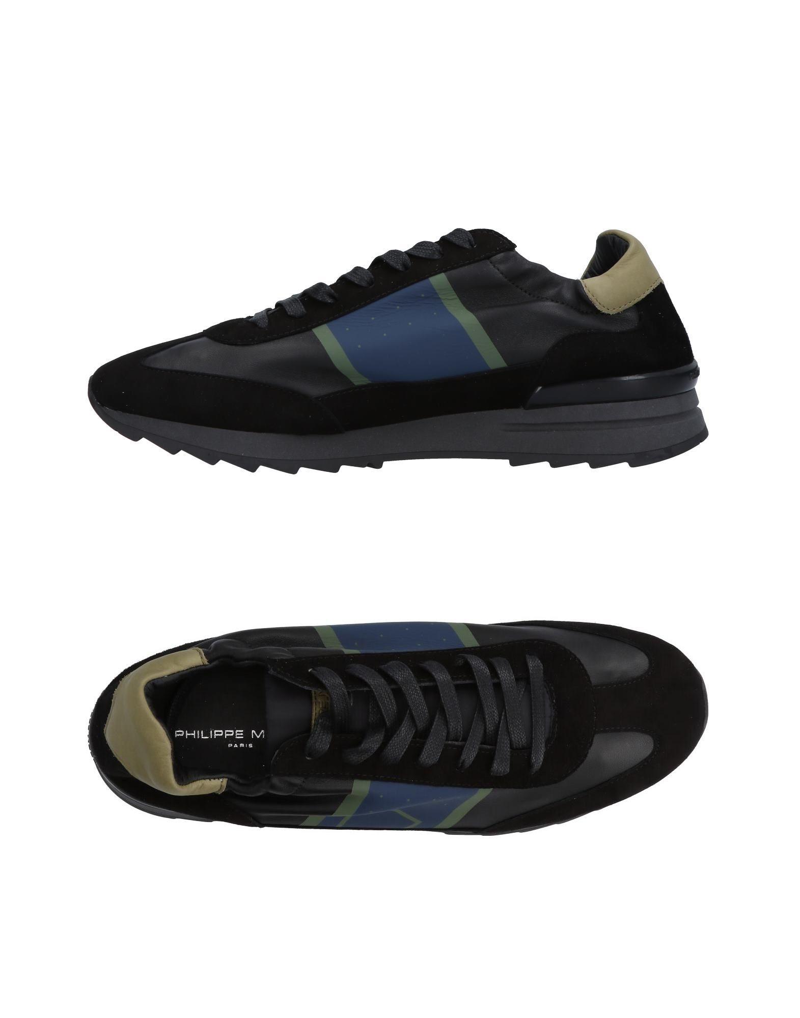 Rabatt echte Schuhe Philippe Model Sneakers Herren  11463731DP