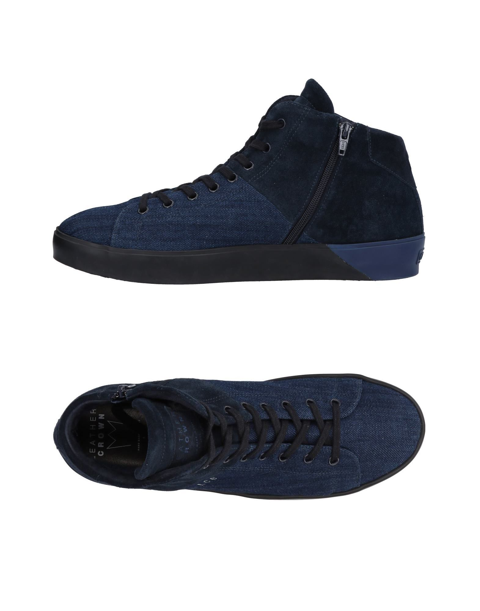 Sneakers Leather Leather Sneakers Crown Uomo - 11463757DU 36fd21