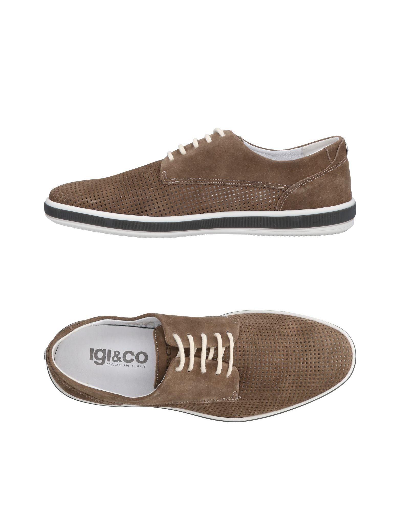 Rabatt echte Schuhe Igi&Co Schnürschuhe Herren  11463891HR