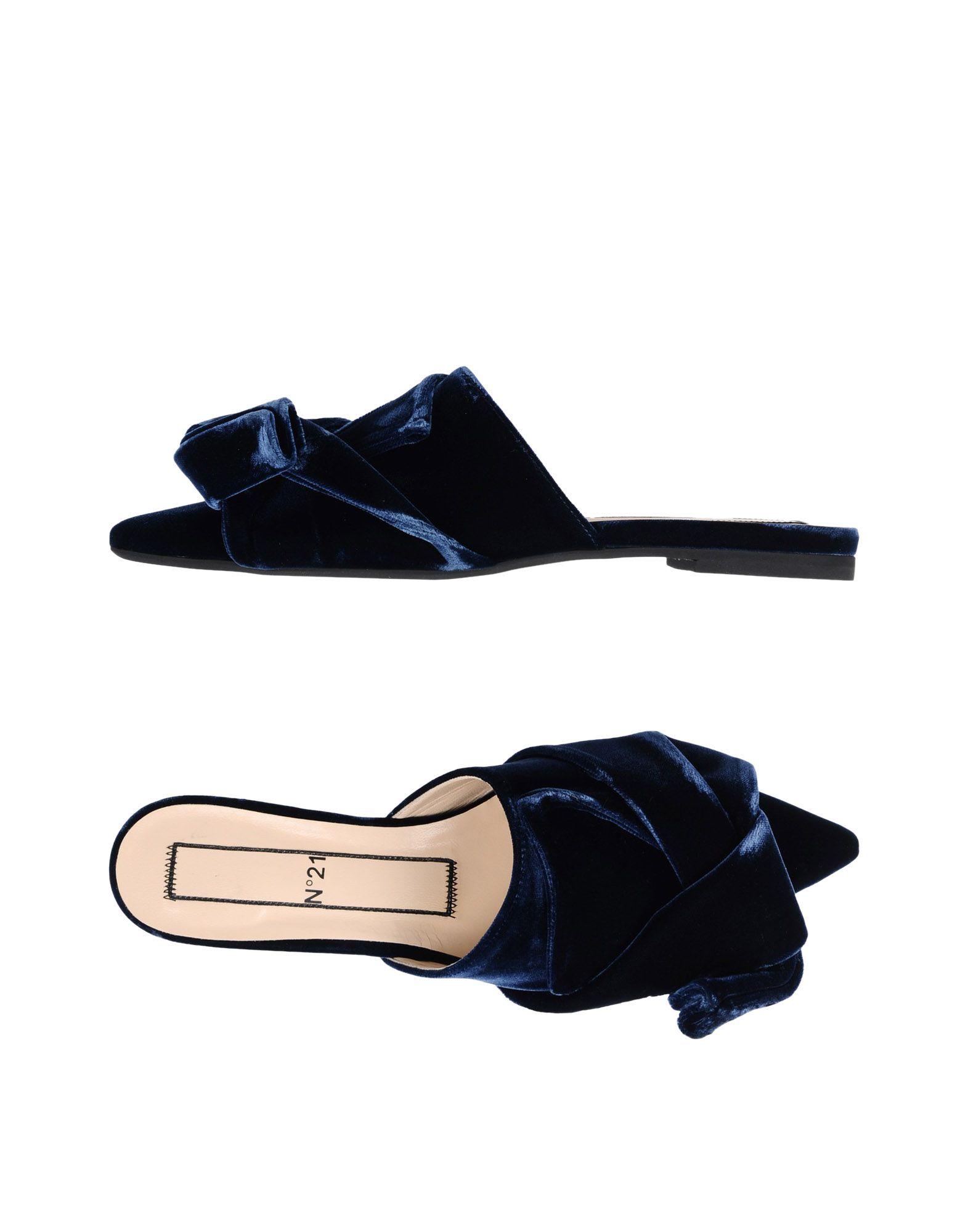 N° 21 Pantoletten Damen  11463925WGGut aussehende strapazierfähige Schuhe