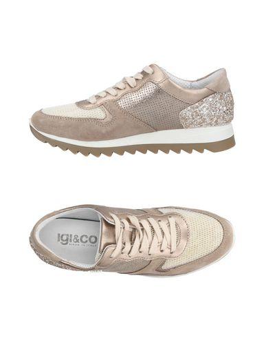 Zapatos de hombres y mujeres de moda casual Zapatillas Igi&Co Mujer - Zapatillas Igi&Co - 11464106DS Gris rosado