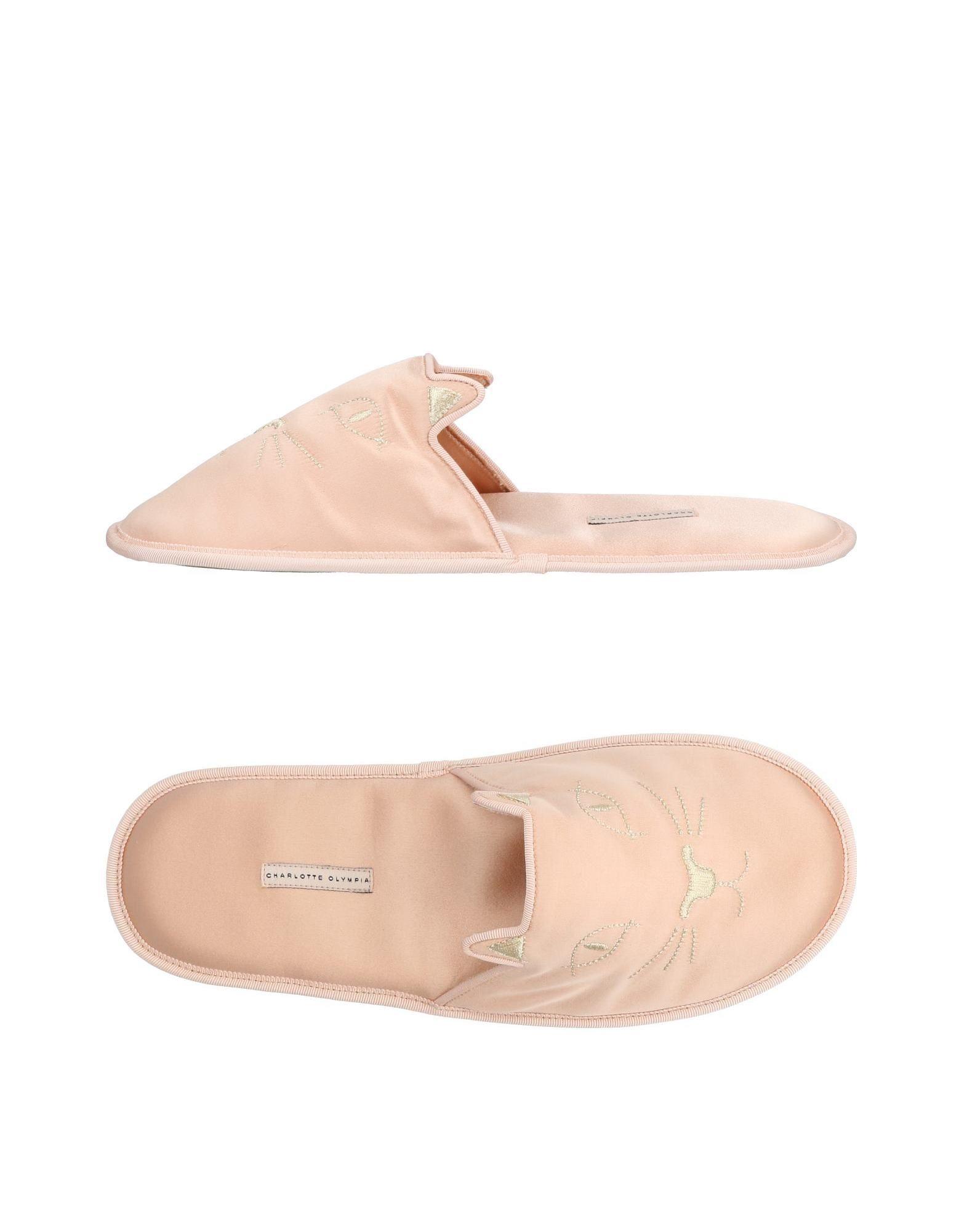 Stilvolle billige billige billige Schuhe Charlotte Olympia Hausschuhe Damen  11464112OM 96258e