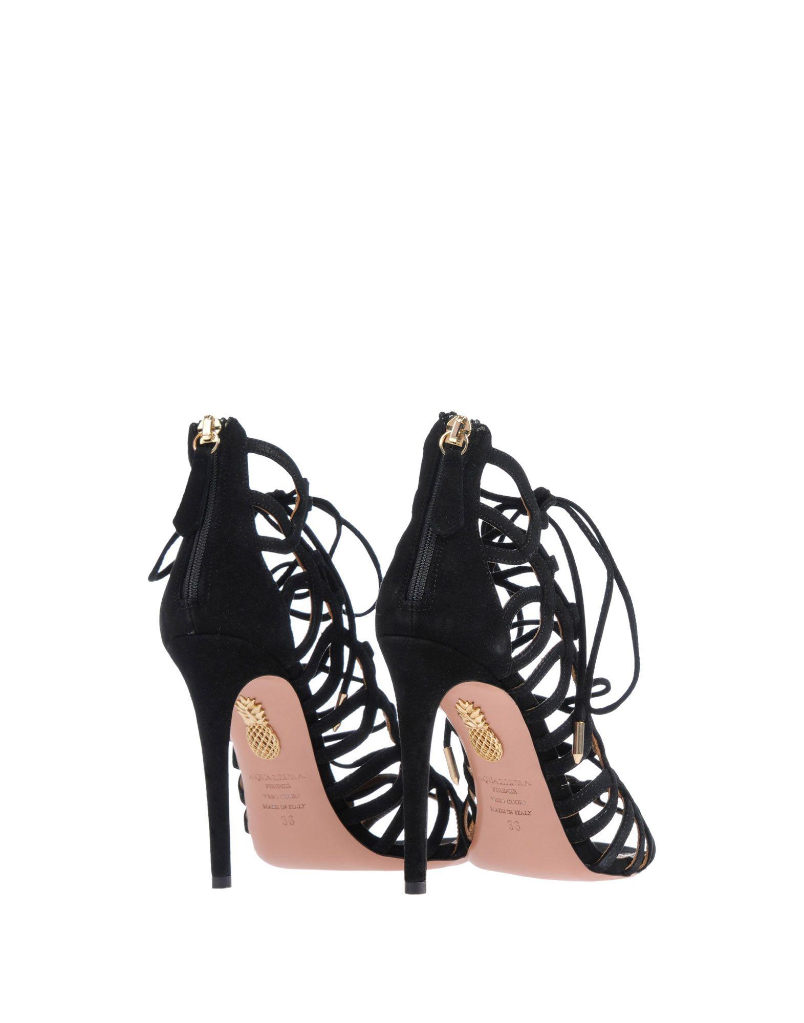 Aquazzura Sandalen aussehende Damen  11464169CNGünstige gut aussehende Sandalen Schuhe e9c58b