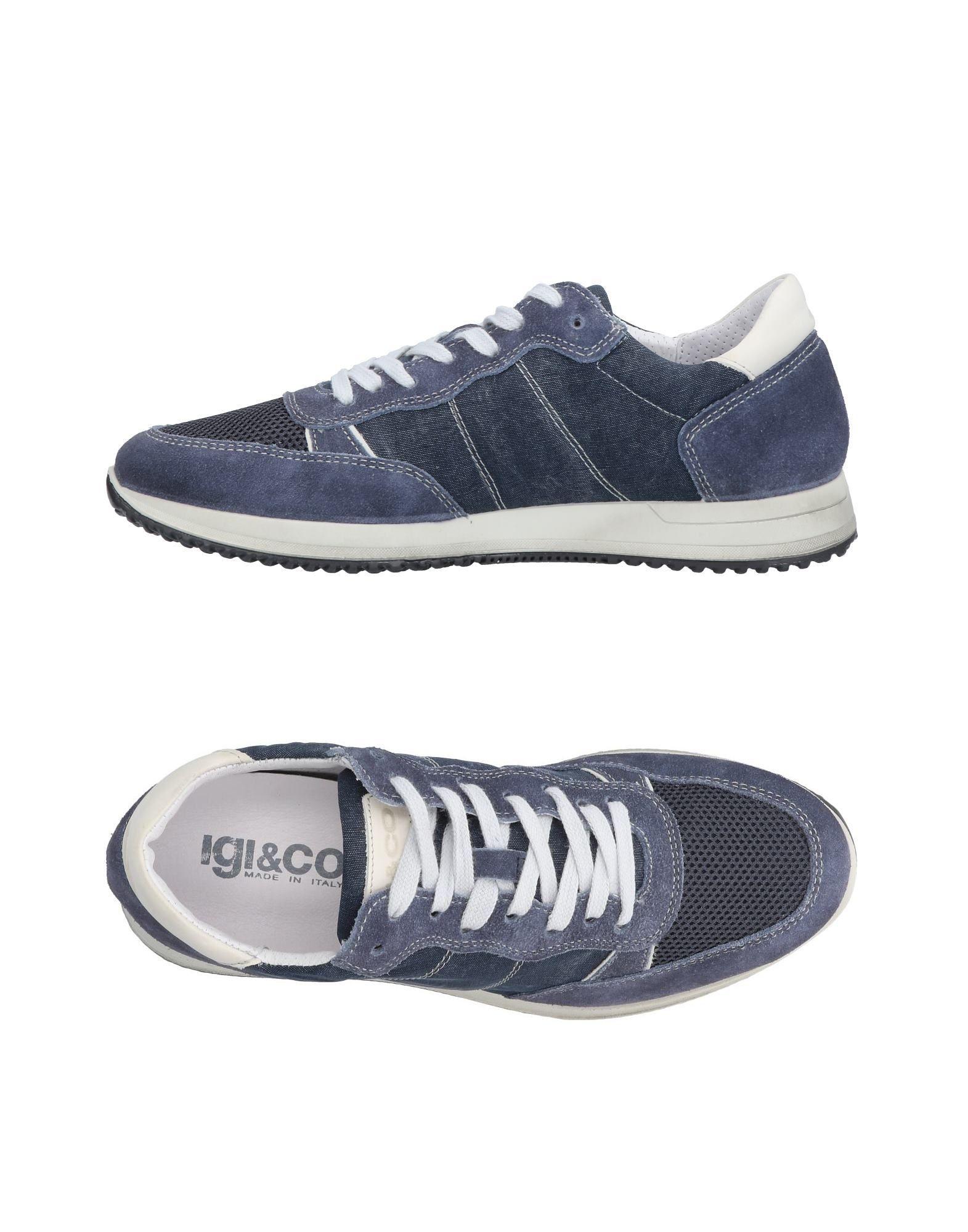 Sneakers Igi&Co Homme - Sneakers Igi&Co  Bleu pétrole Meilleur modèle de vente