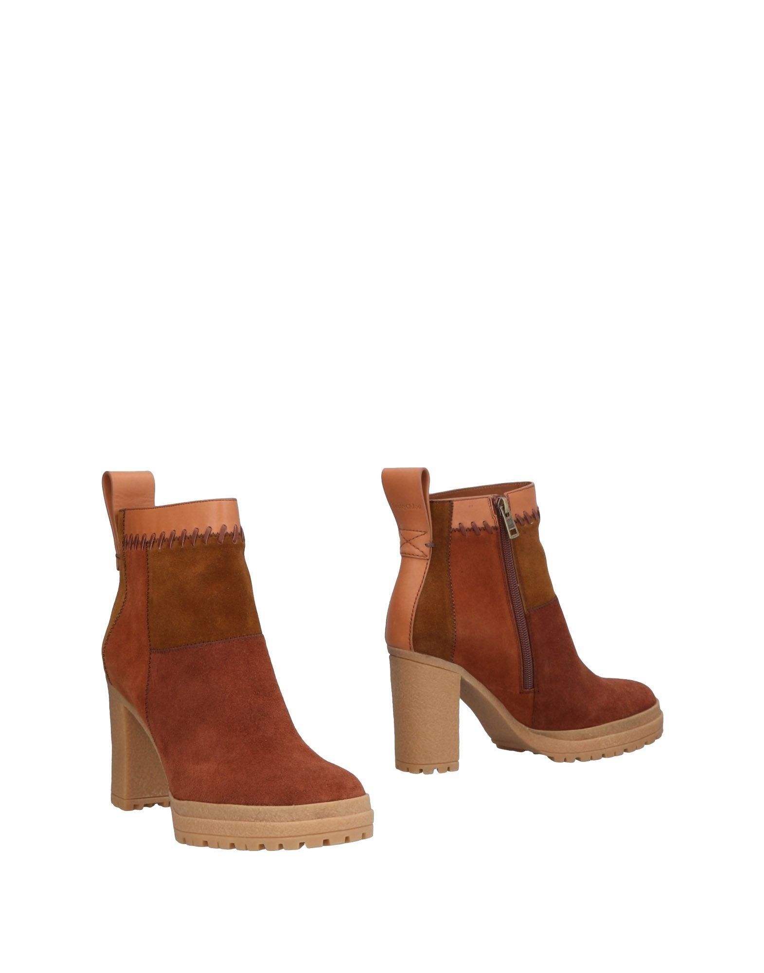 See By Chloé Stiefelette Schuhe Damen  11464192XV Neue Schuhe Stiefelette 8db83a
