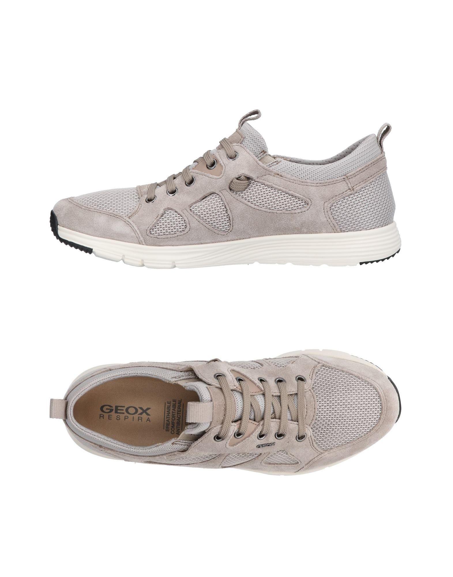 Sneakers Geox Homme - Sneakers Geox  Gris tourterelle Spécial temps limité